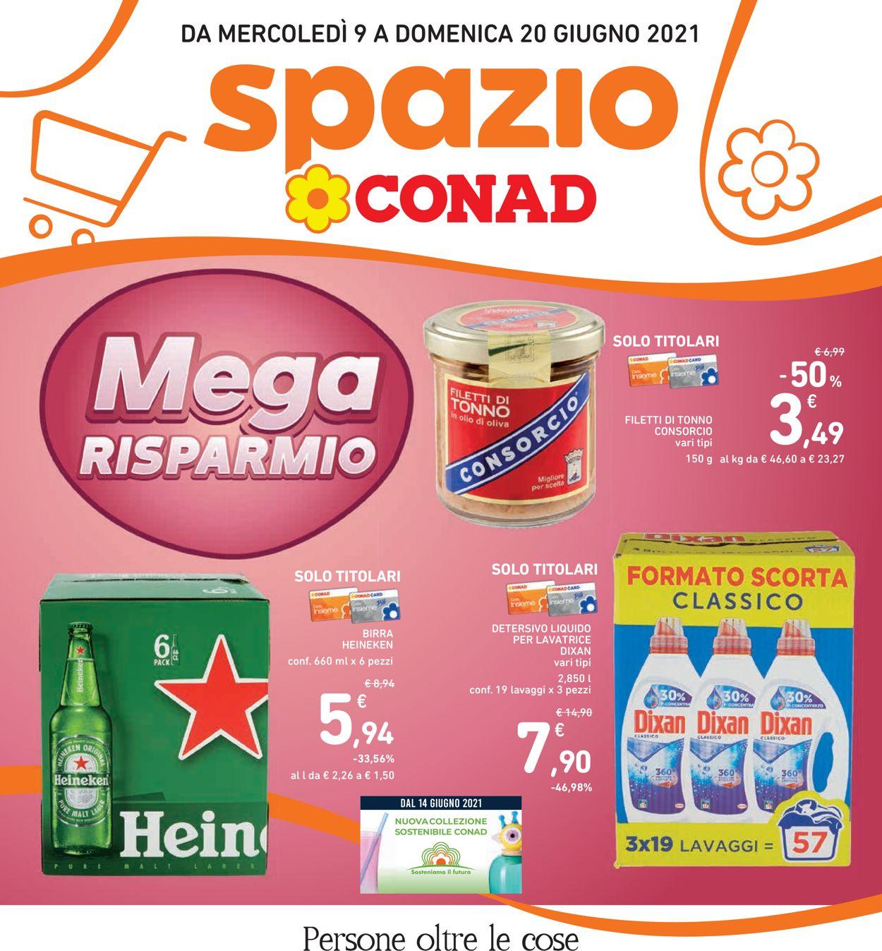 Volantino Conad - Offerte 09/06-20/06/2021