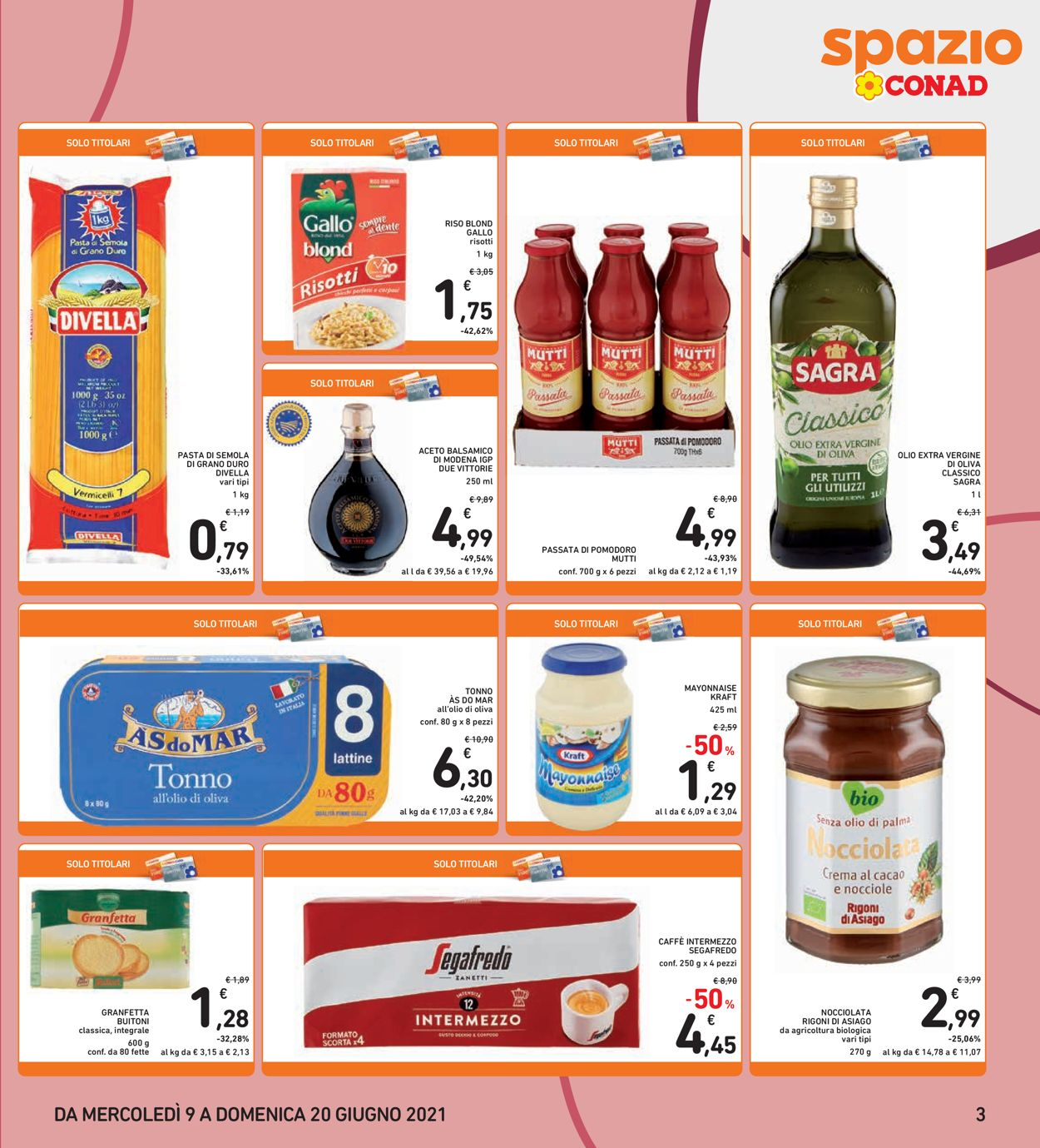 Volantino Conad - Offerte 09/06-20/06/2021 (Pagina 3)