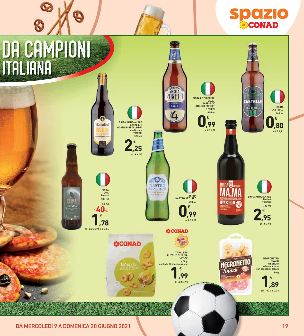 Volantino Conad - Offerte 09/06-20/06/2021 (Pagina 19)