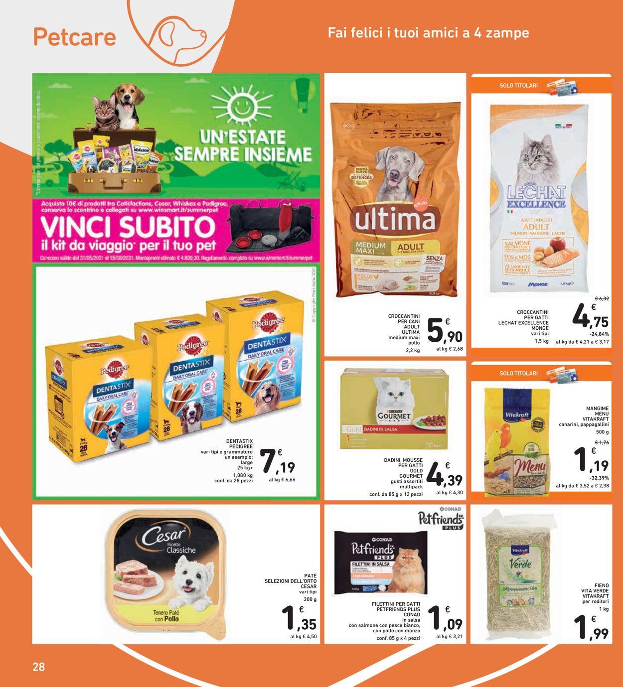 Volantino Conad - Offerte 09/06-20/06/2021 (Pagina 28)