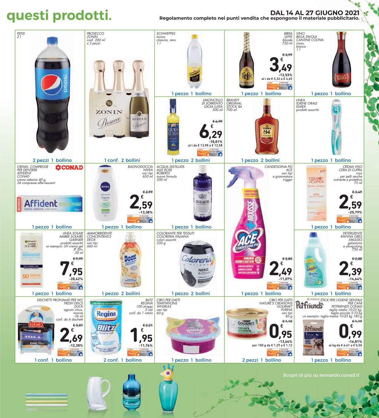 Volantino Conad - Offerte 09/06-20/06/2021 (Pagina 39)