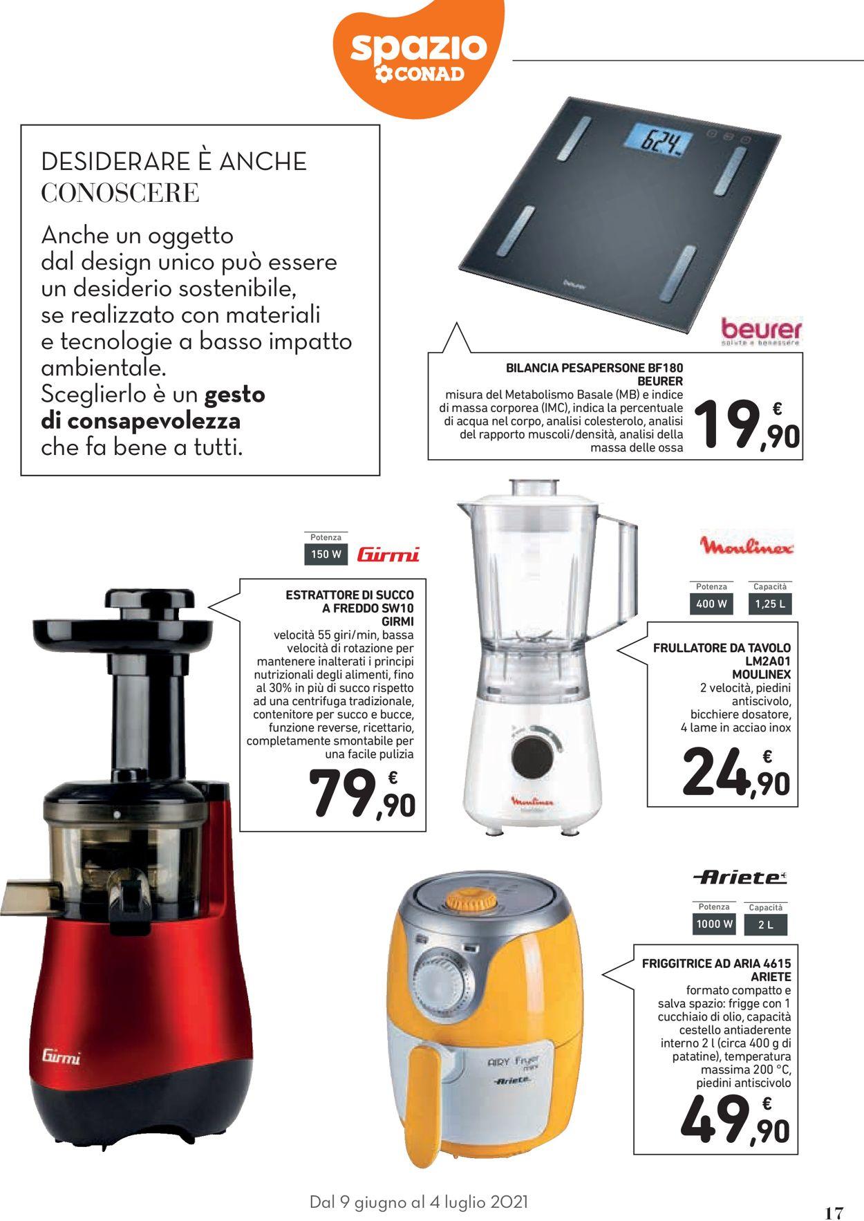 Volantino Conad - Offerte 09/06-04/07/2021 (Pagina 17)