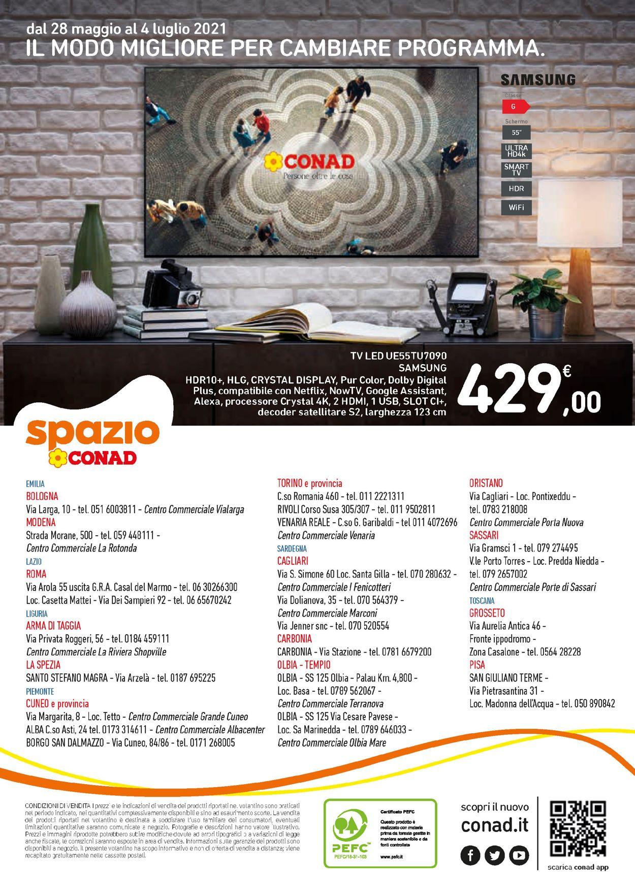 Volantino Conad - Offerte 28/05-04/07/2021 (Pagina 16)