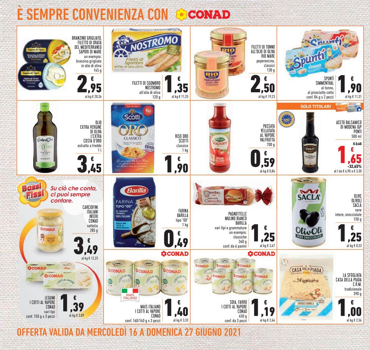 Volantino Conad - Offerte 16/06-27/06/2021 (Pagina 16)