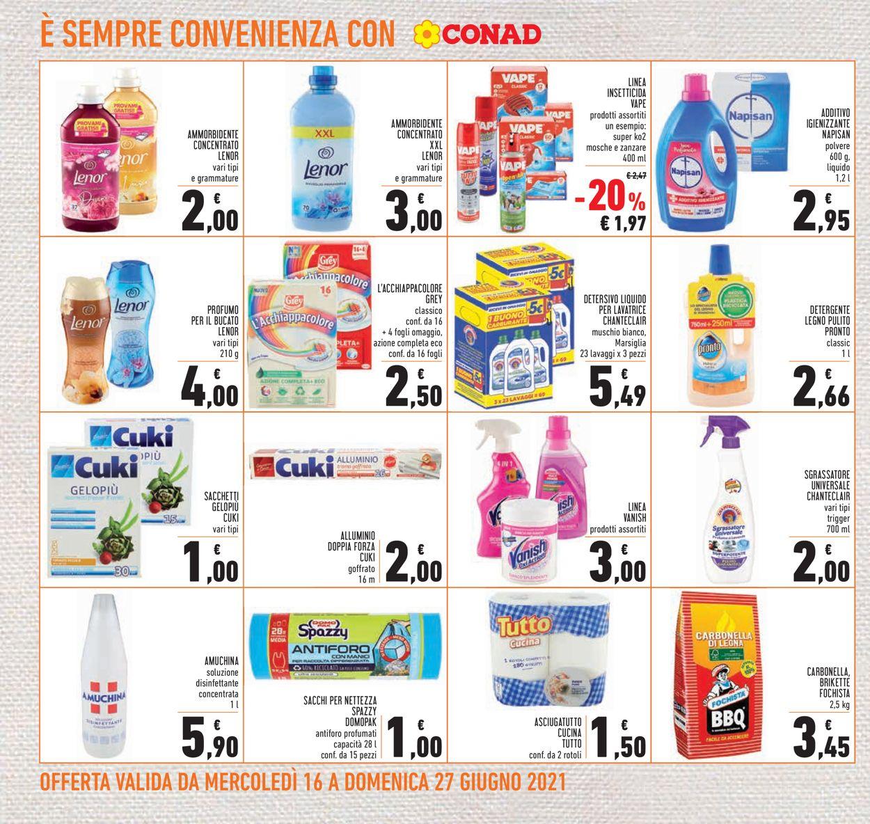 Volantino Conad - Offerte 16/06-27/06/2021 (Pagina 20)