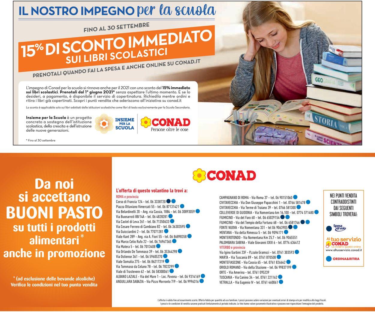 Volantino Conad - Offerte 16/06-27/06/2021 (Pagina 23)