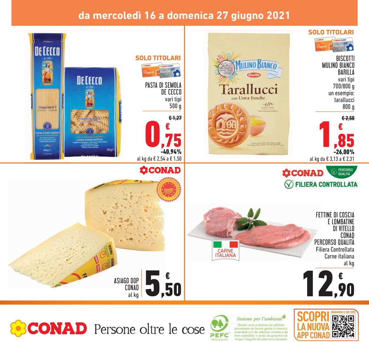 Volantino Conad - Offerte 16/06-27/06/2021 (Pagina 28)