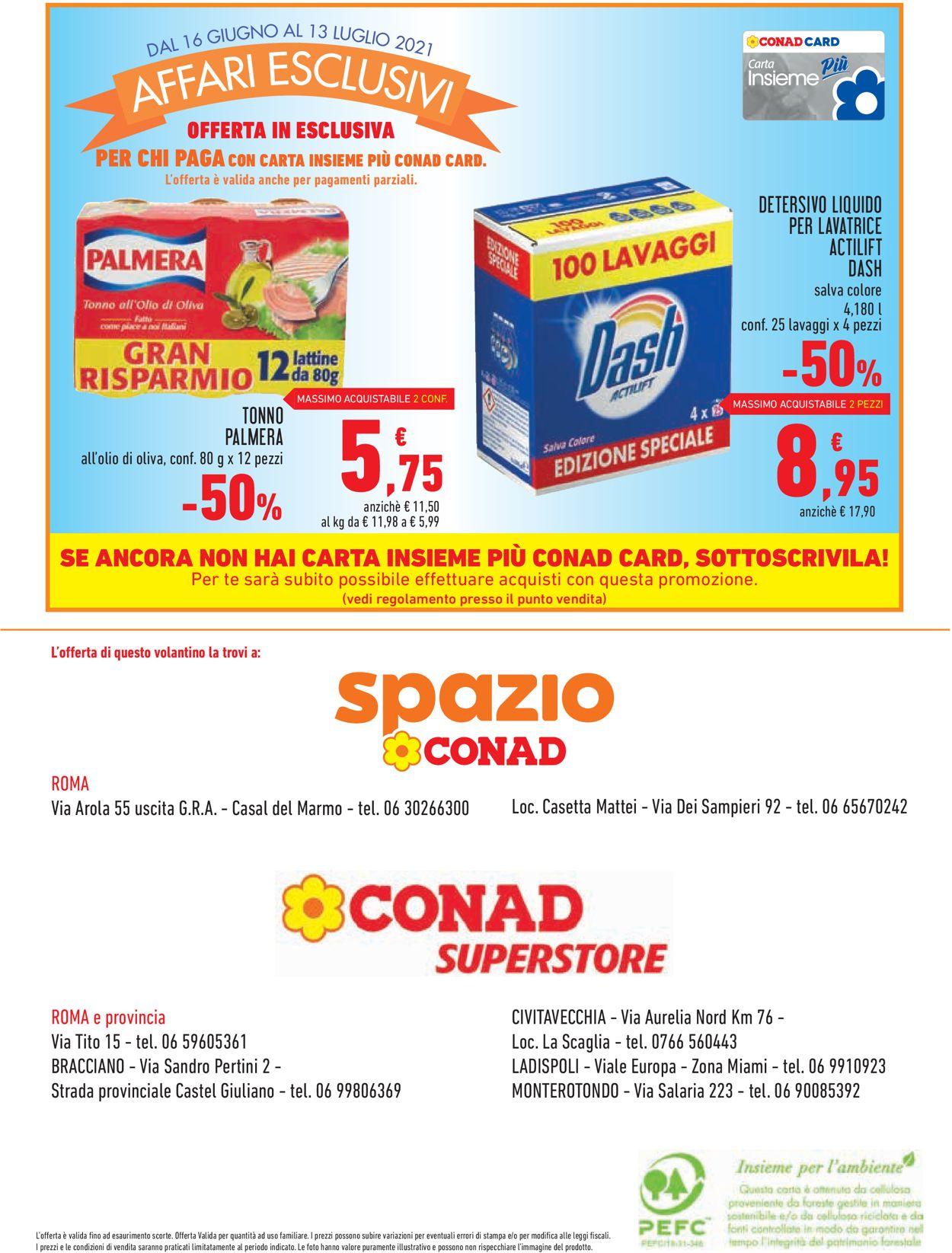 Volantino Conad - Offerte 16/06-13/07/2021 (Pagina 16)