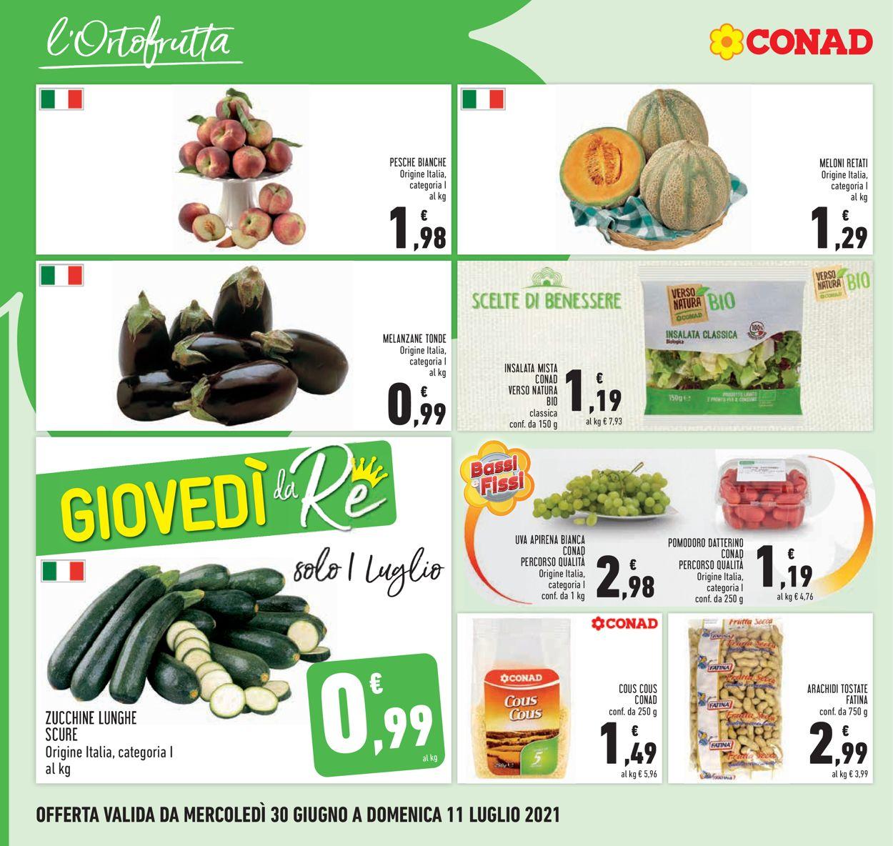Volantino Conad - Offerte 30/06-11/07/2021 (Pagina 6)