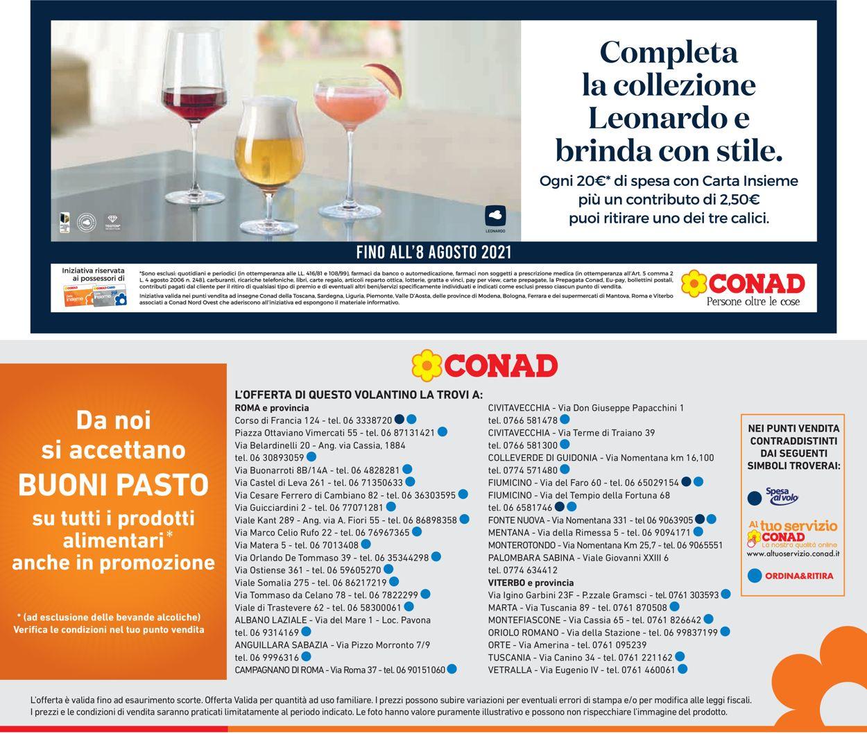 Volantino Conad - Offerte 30/06-11/07/2021 (Pagina 25)