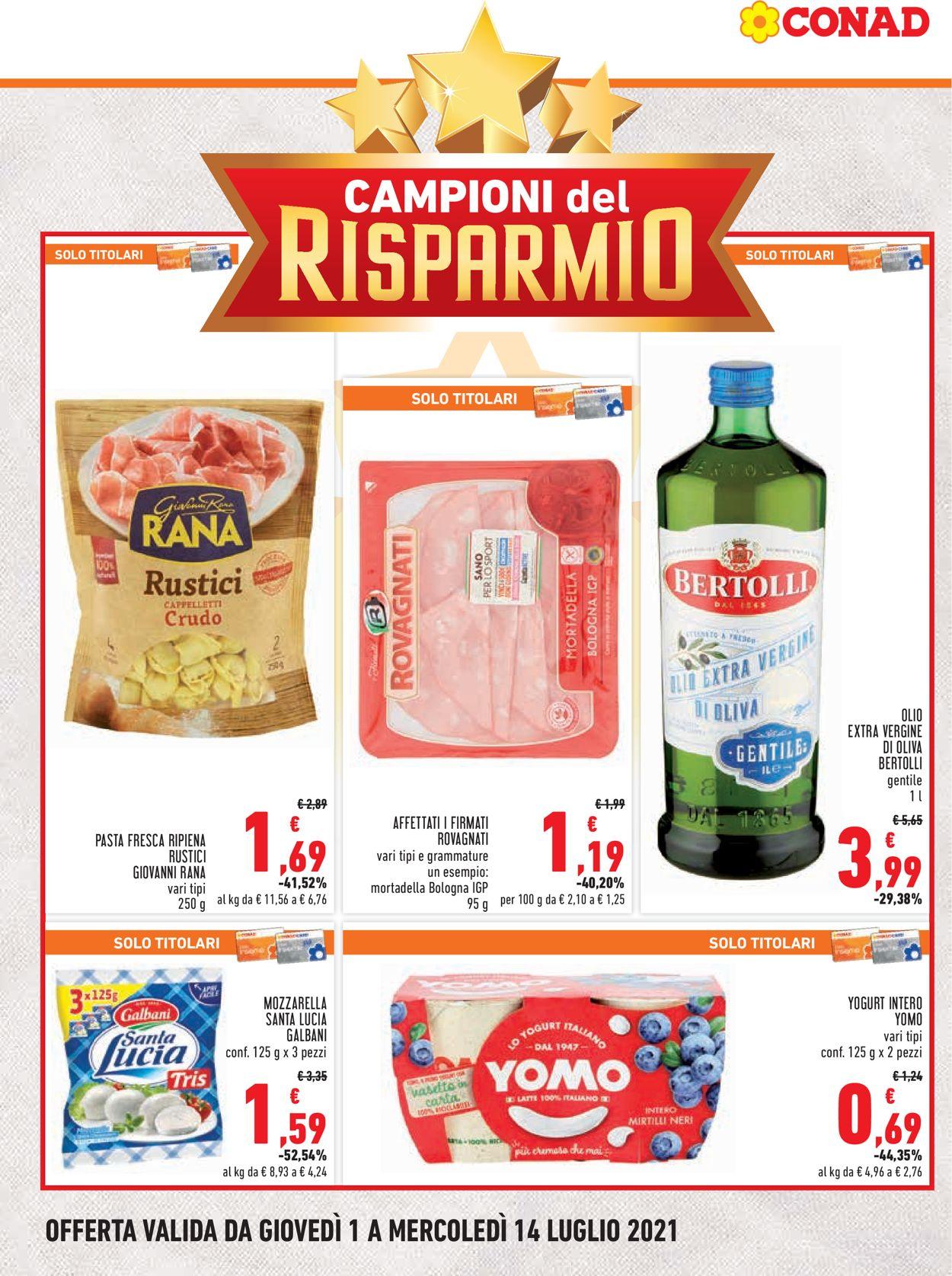 Volantino Conad - Offerte 01/07-14/07/2021 (Pagina 2)