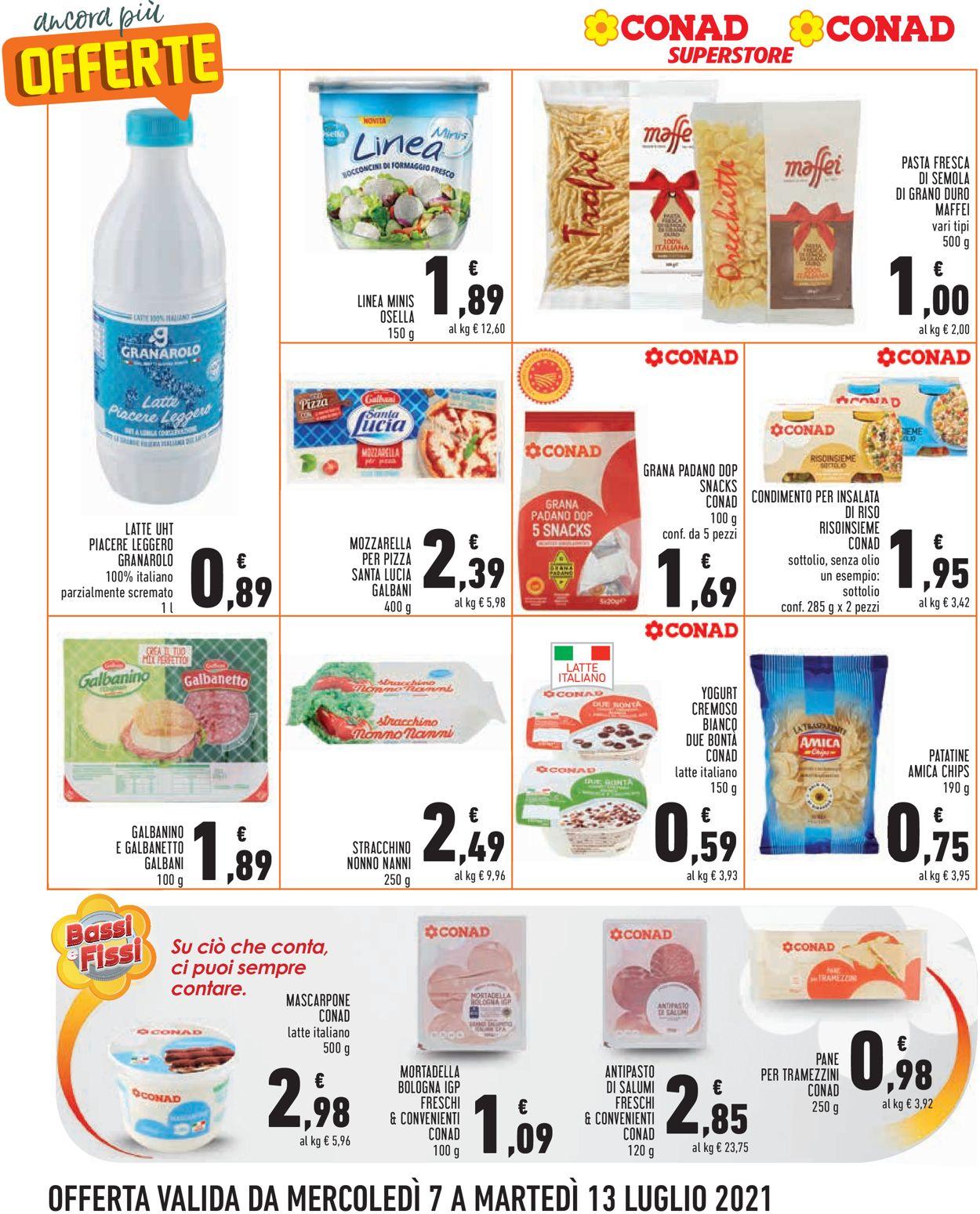 Volantino Conad - Offerte 07/07-13/07/2021 (Pagina 4)