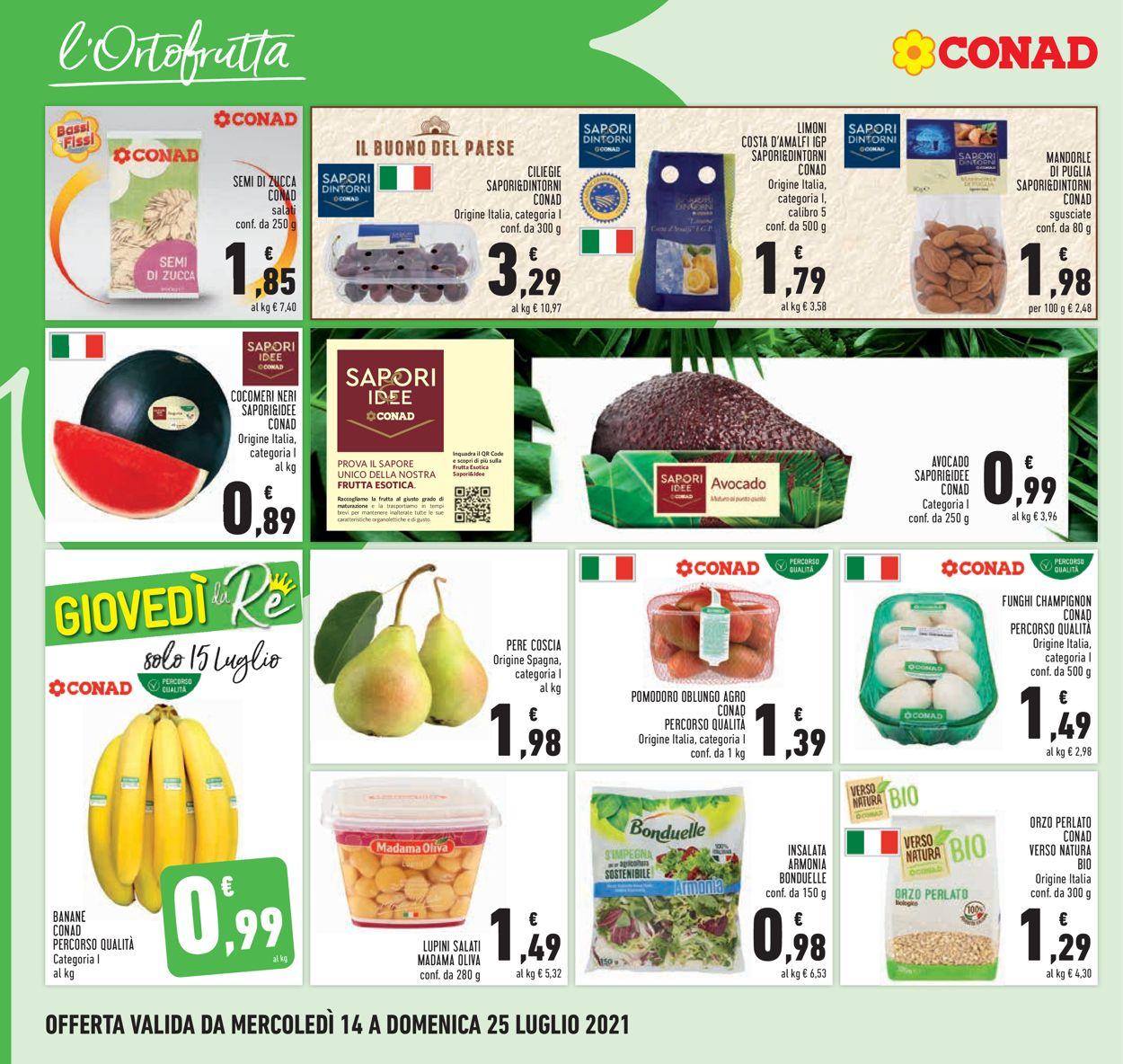 Volantino Conad - Offerte 14/07-25/07/2021 (Pagina 4)