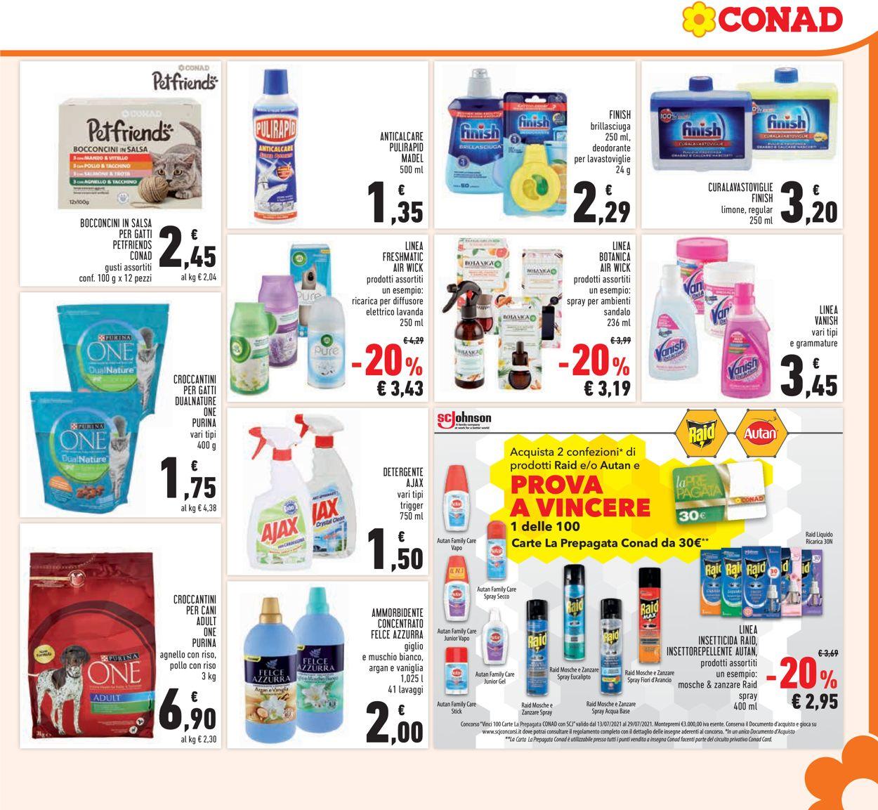 Volantino Conad - Offerte 14/07-25/07/2021 (Pagina 21)