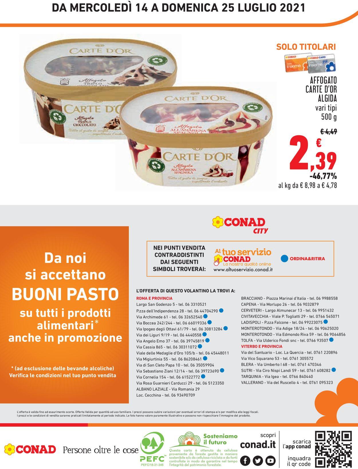 Volantino Conad - Offerte 14/07-25/07/2021 (Pagina 20)