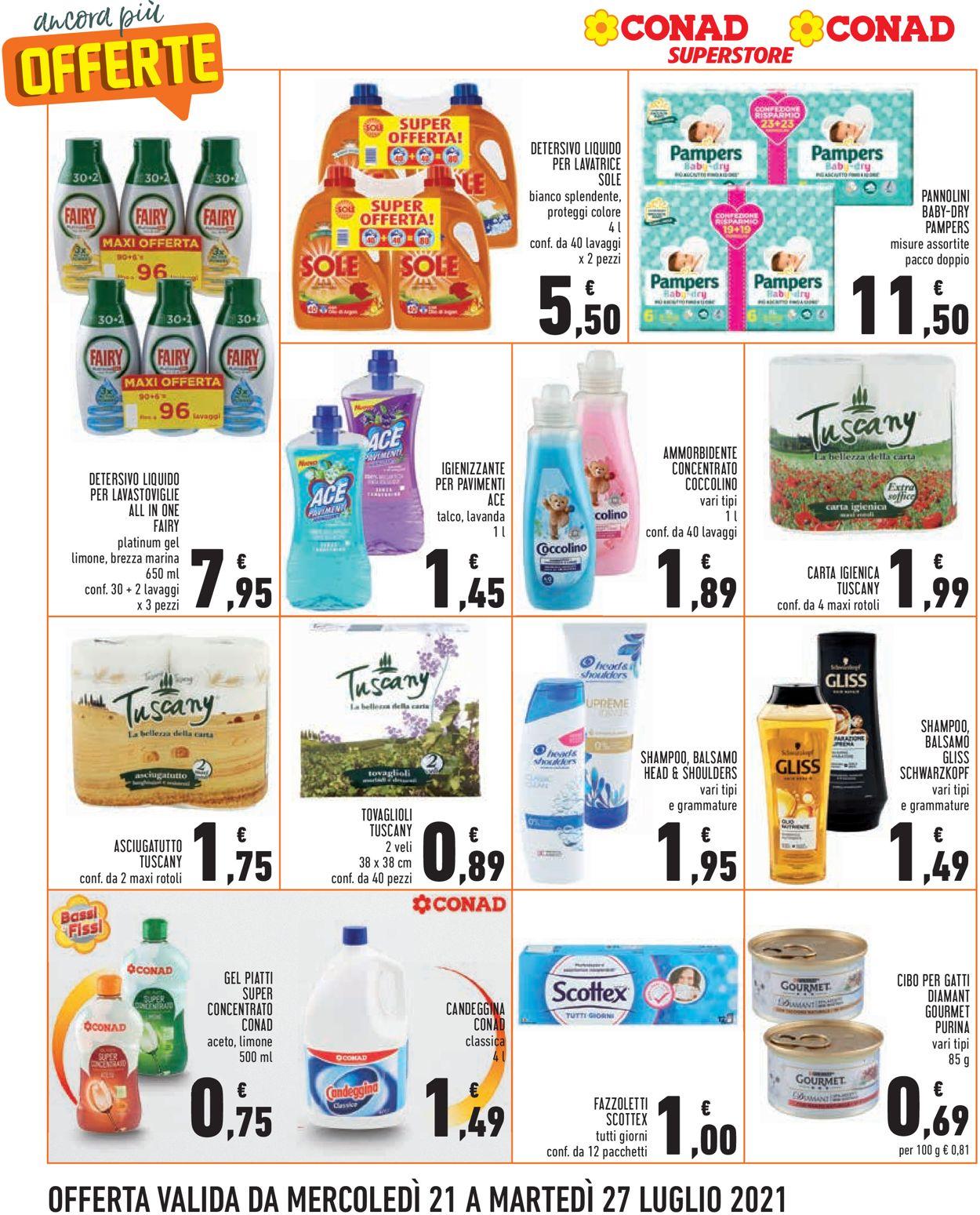 Volantino Conad - Offerte 21/07-27/07/2021 (Pagina 8)
