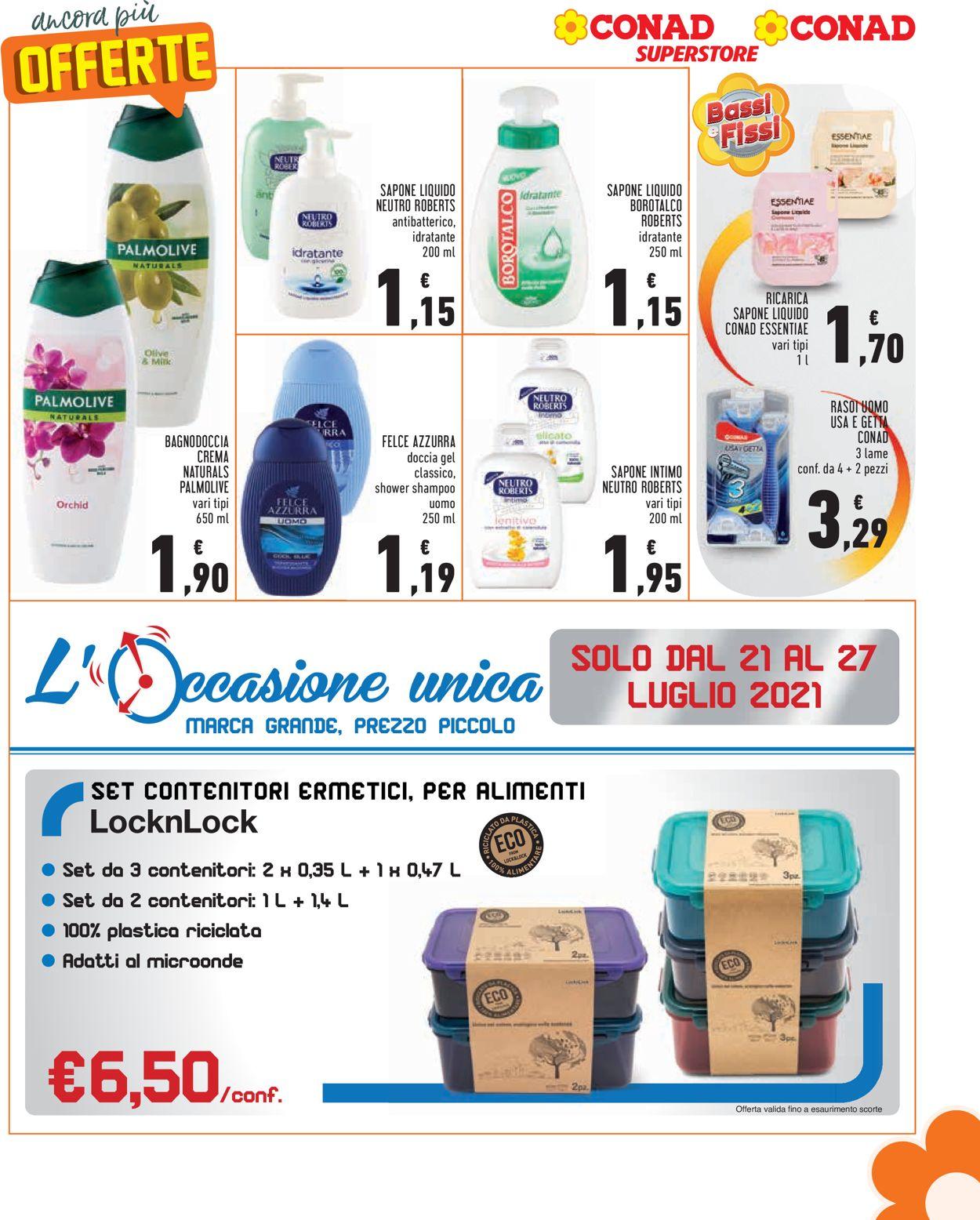 Volantino Conad - Offerte 21/07-27/07/2021 (Pagina 9)