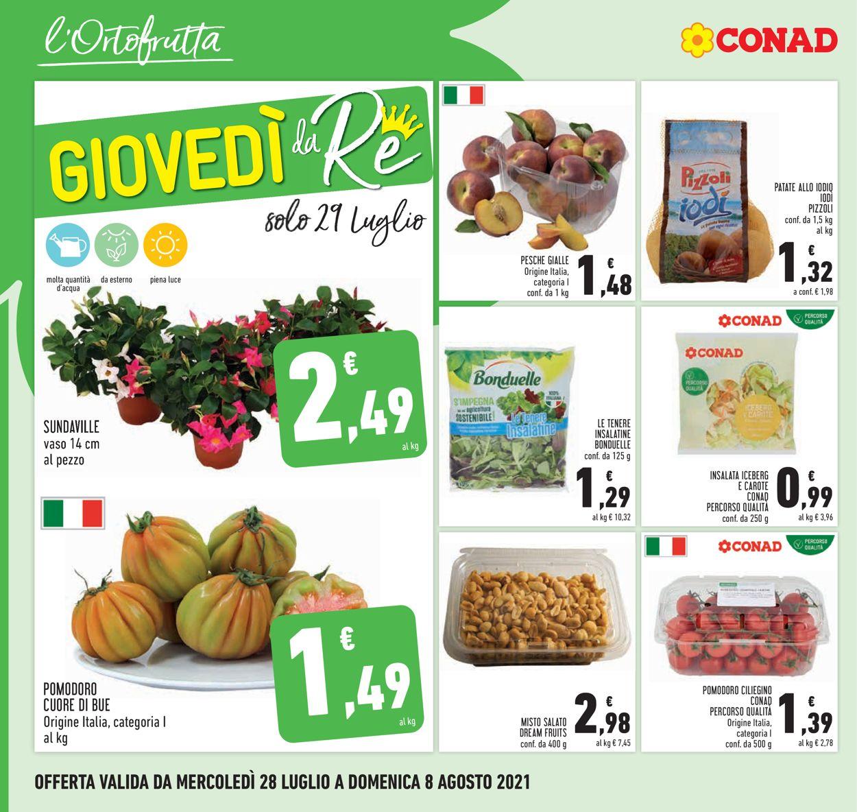 Volantino Conad - Offerte 28/07-08/08/2021 (Pagina 10)