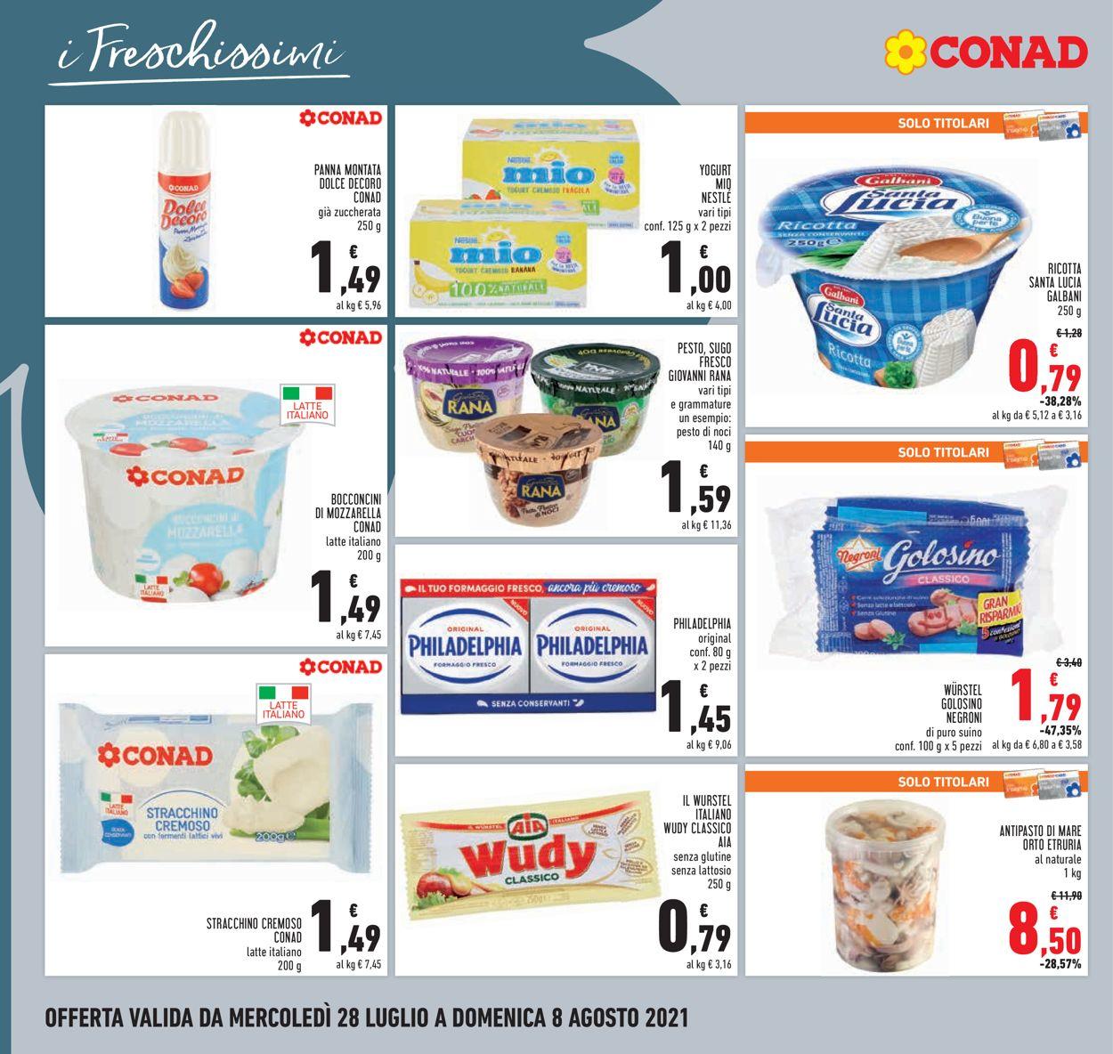 Volantino Conad - Offerte 28/07-08/08/2021 (Pagina 14)