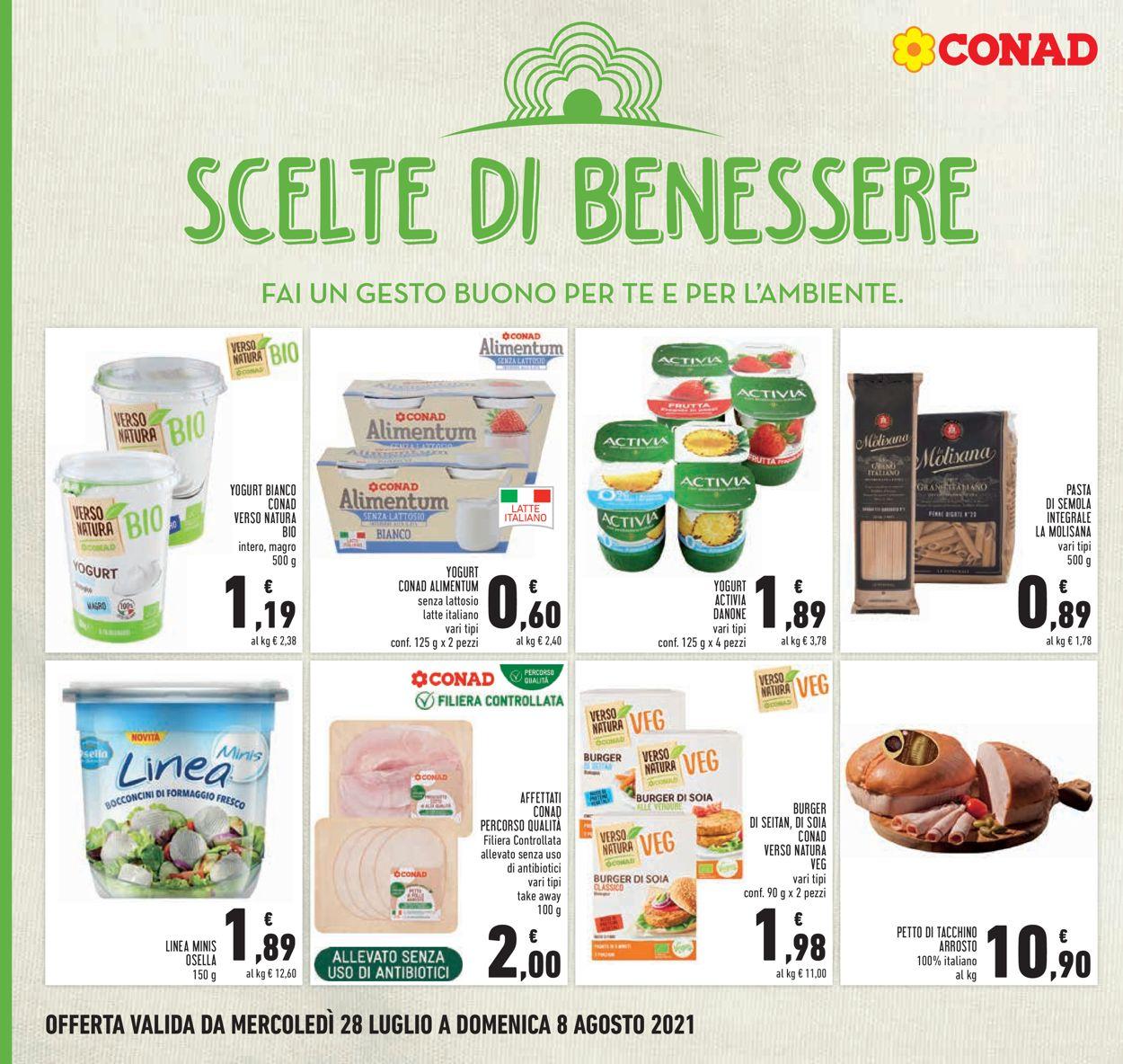 Volantino Conad - Offerte 28/07-08/08/2021 (Pagina 16)