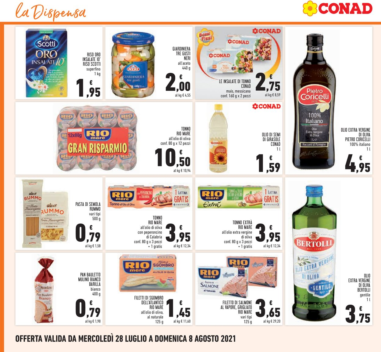 Volantino Conad - Offerte 28/07-08/08/2021 (Pagina 18)
