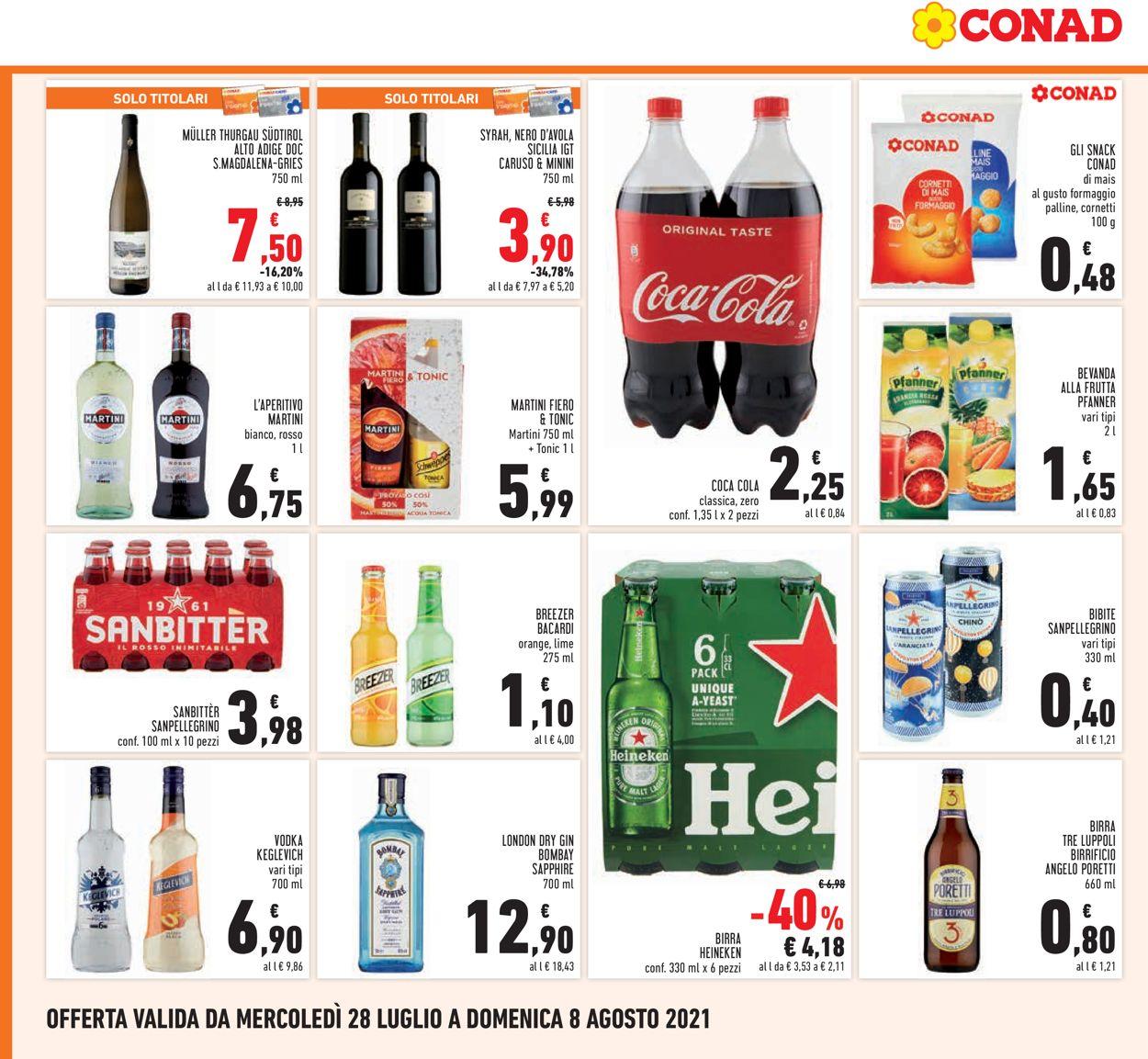 Volantino Conad - Offerte 28/07-08/08/2021 (Pagina 20)