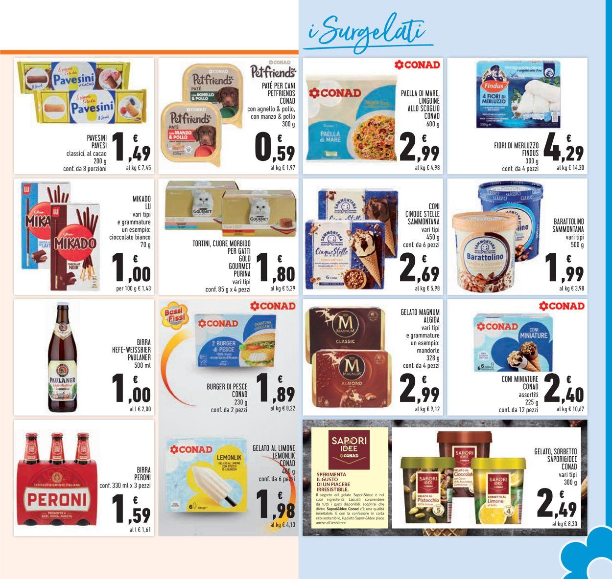 Volantino Conad - Offerte 28/07-08/08/2021 (Pagina 21)