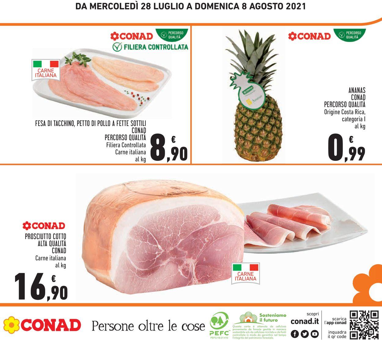 Volantino Conad - Offerte 28/07-08/08/2021 (Pagina 28)