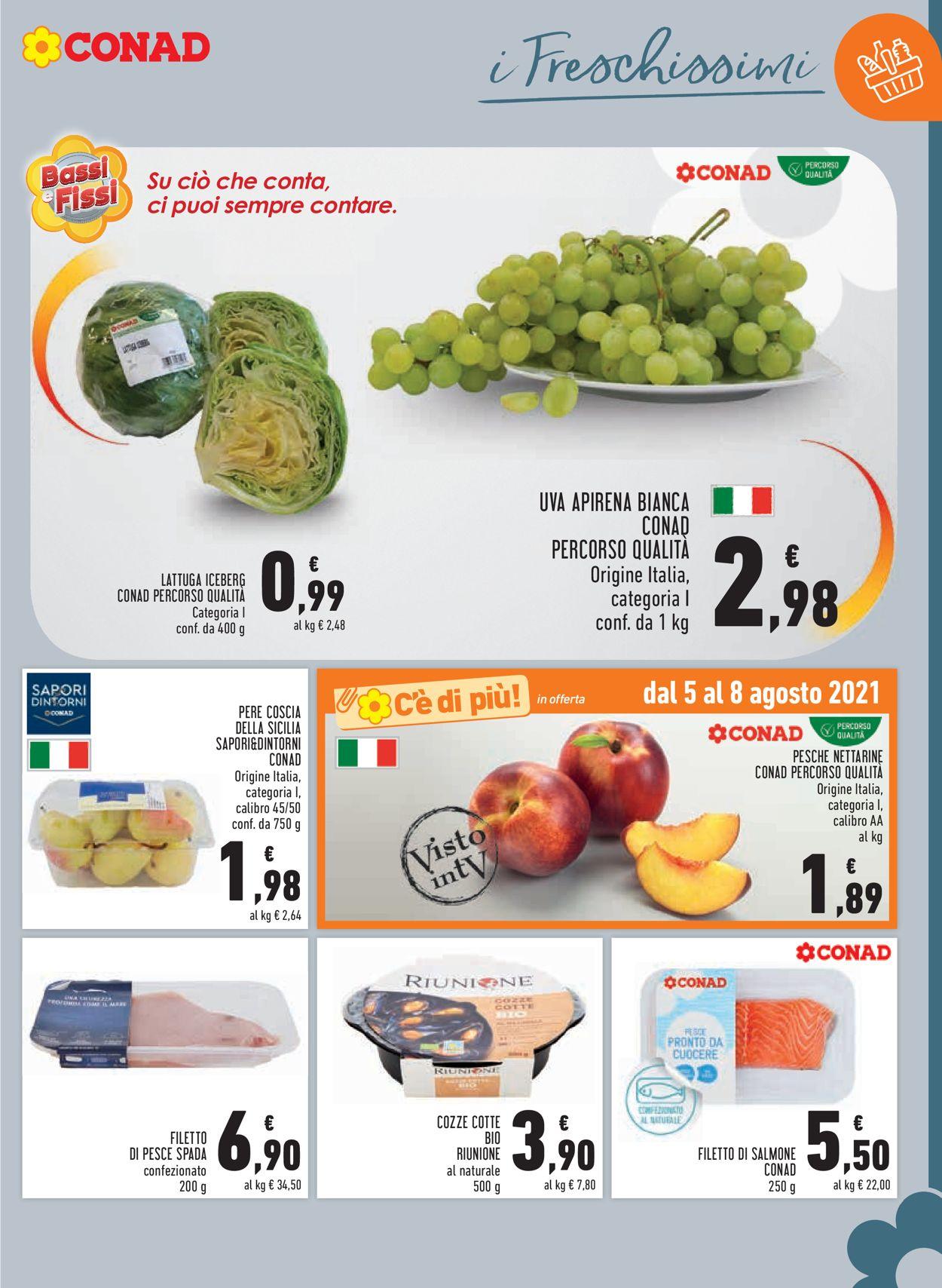 Volantino Conad - Offerte 29/07-11/08/2021 (Pagina 3)