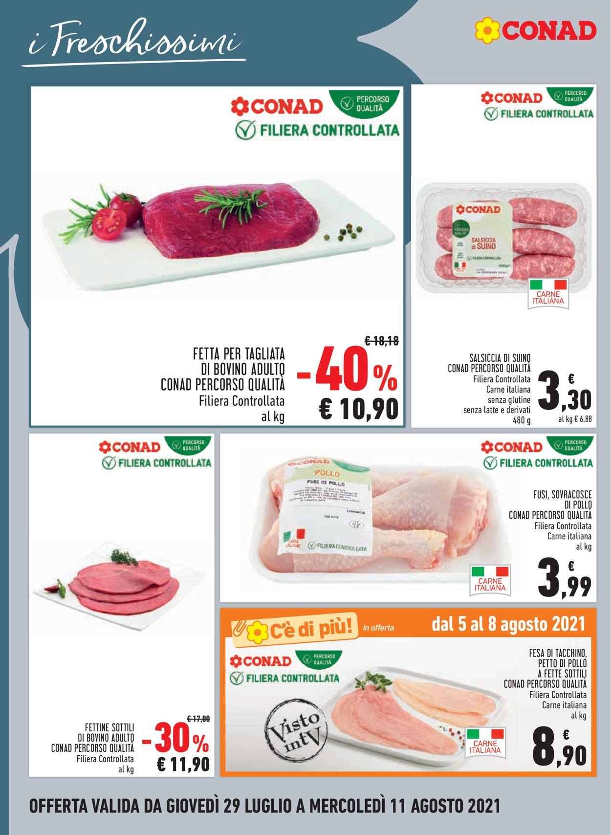 Volantino Conad - Offerte 29/07-11/08/2021 (Pagina 4)
