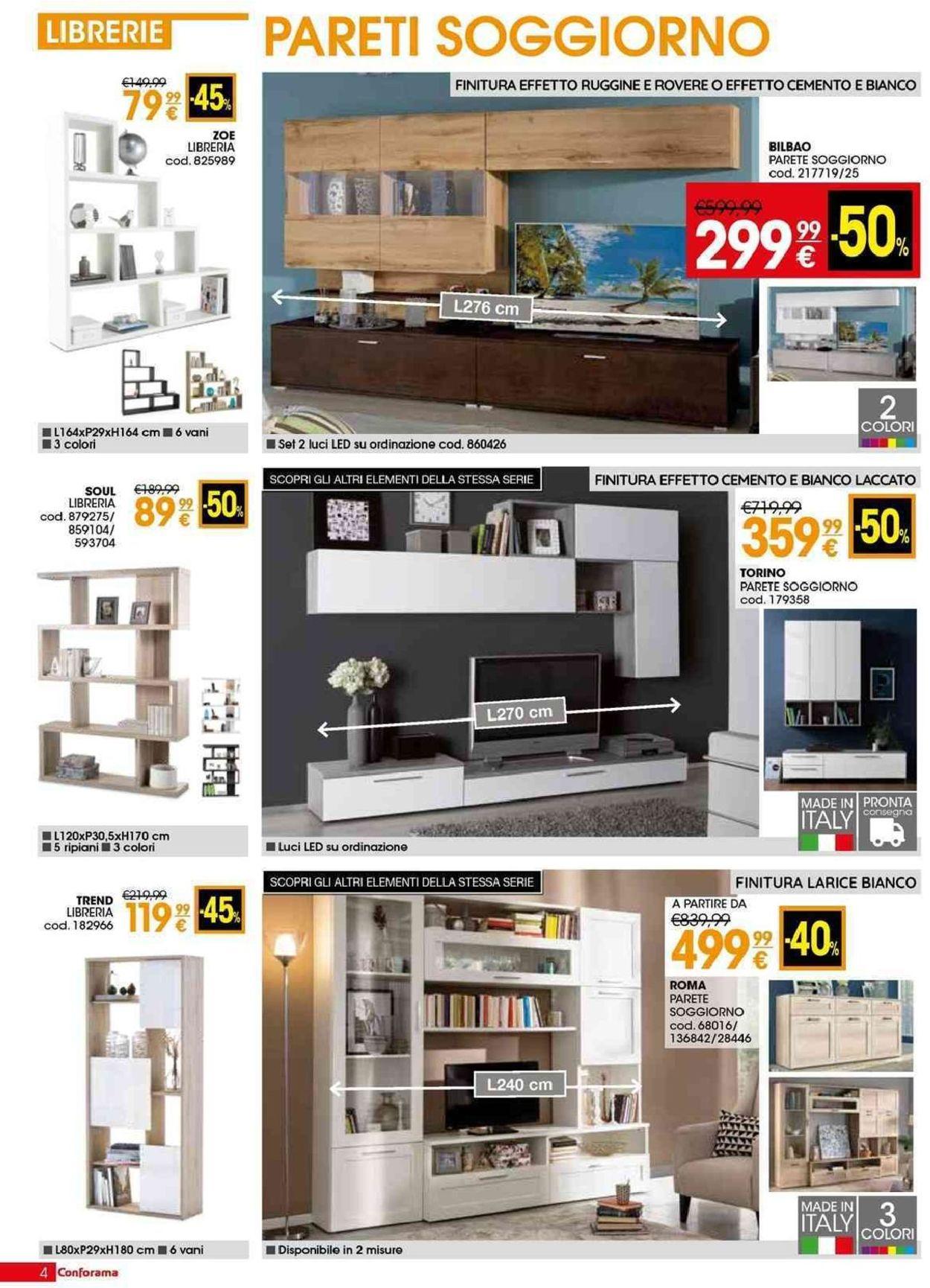 Volantino Conforama - Offerte 28/03-01/05/2019 (Pagina 4)