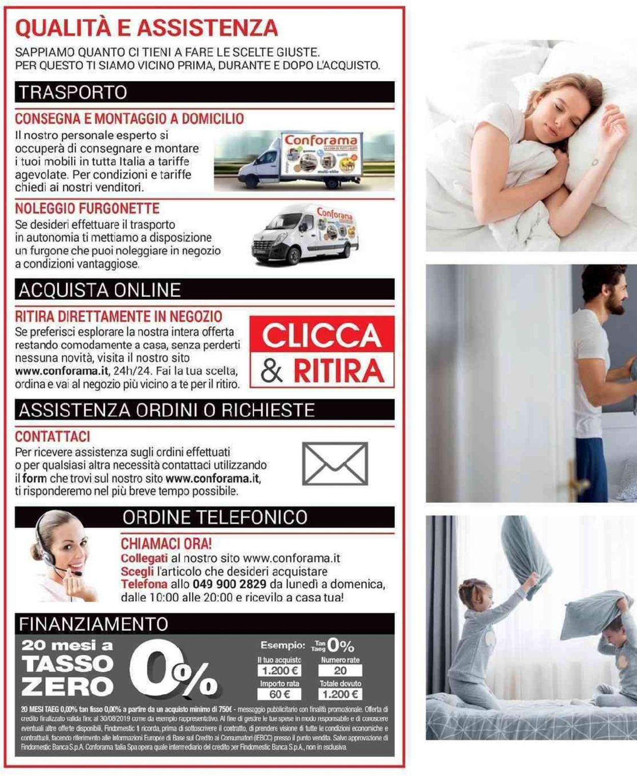 Volantino Conforama - Offerte 12/04-30/08/2019 (Pagina 2)