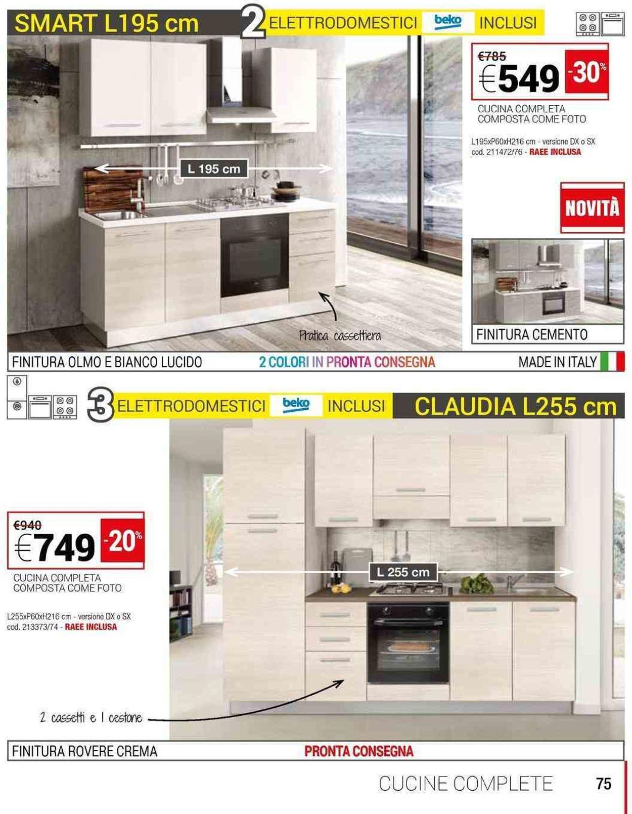 Volantino Conforama - Offerte 01/02-30/06/2019 (Pagina 75)