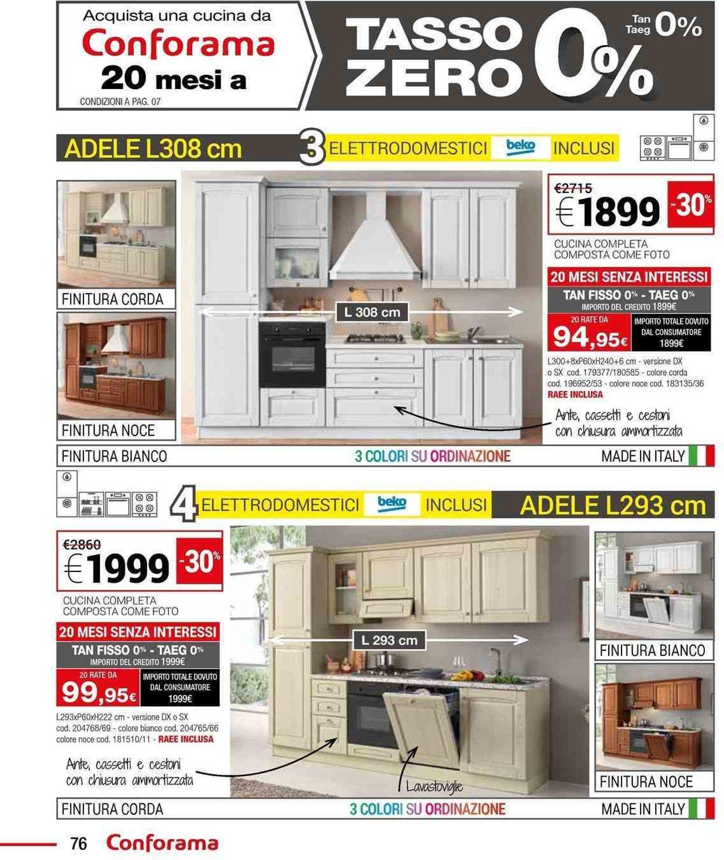Volantino Conforama - Offerte 01/02-30/06/2019 (Pagina 76)