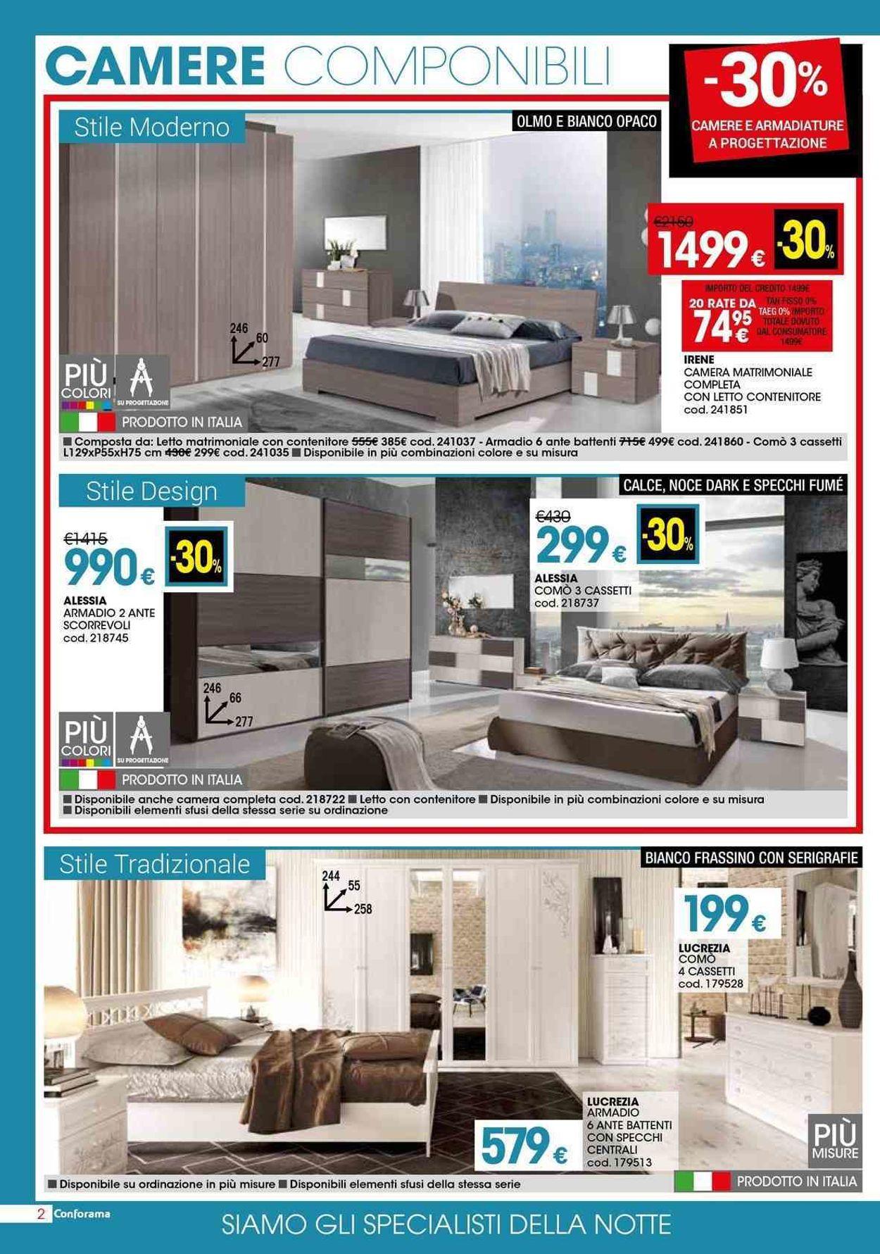 Volantino Conforama - Offerte 02/05-29/05/2019 (Pagina 2)