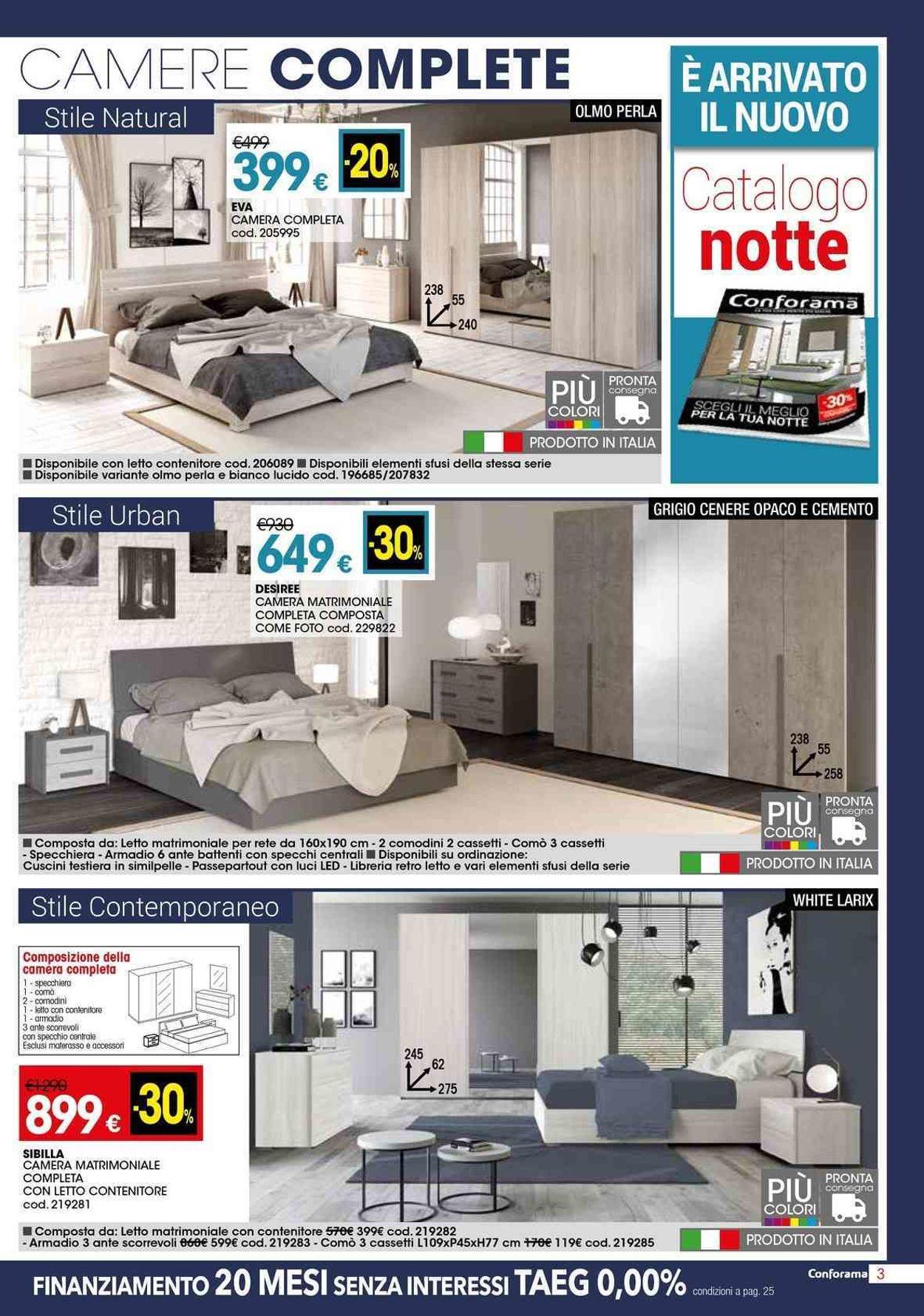 Volantino Conforama - Offerte 02/05-29/05/2019 (Pagina 3)