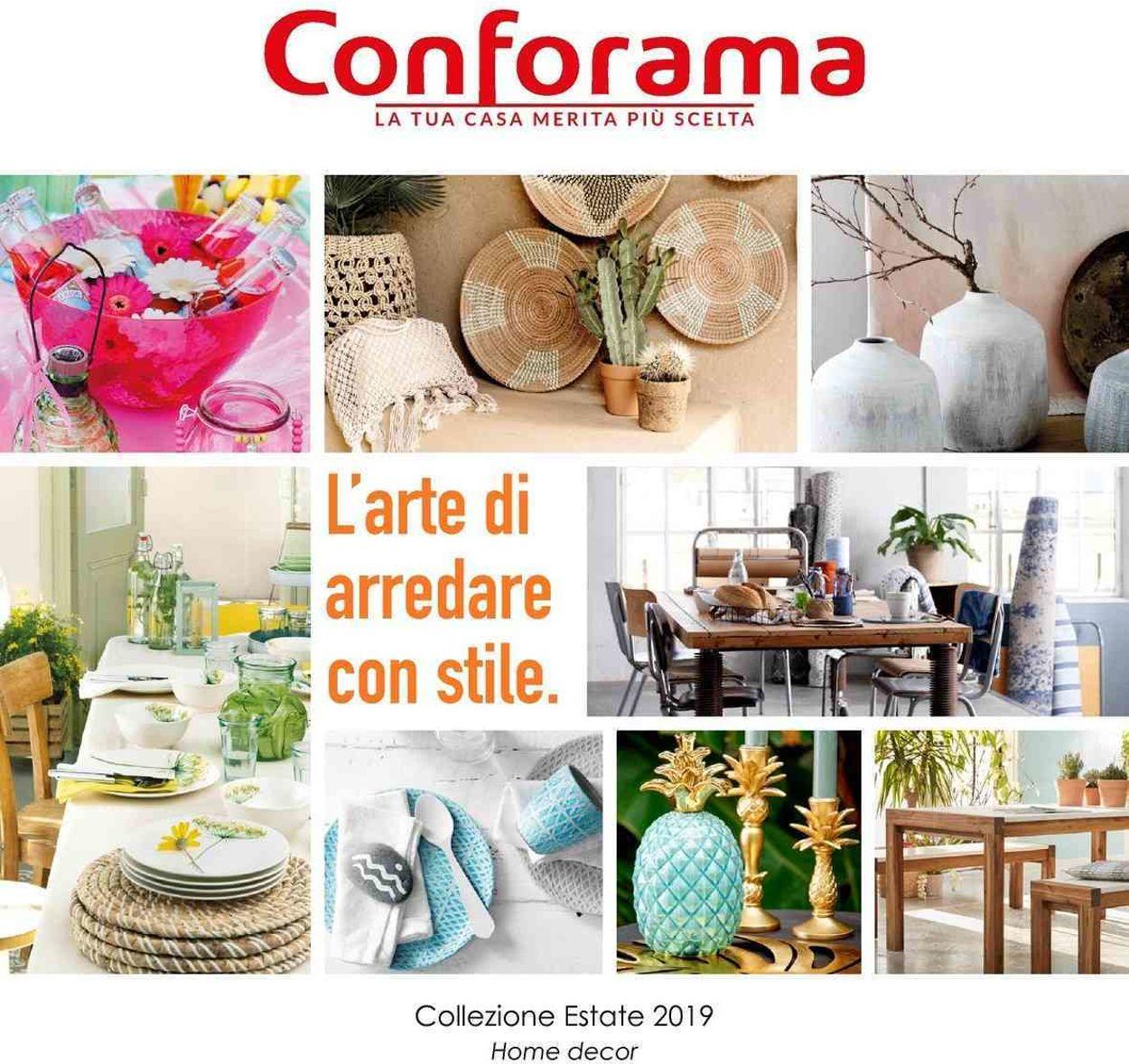 Volantino Conforama - Offerte 31/05-31/07/2019