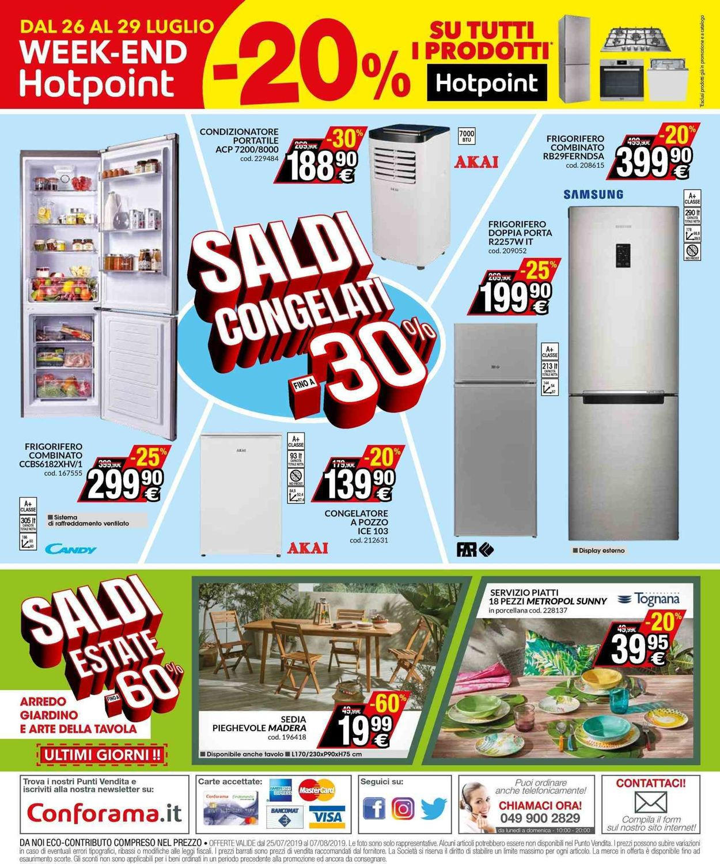 Volantino Conforama - Offerte 25/07-07/08/2019 (Pagina 16)