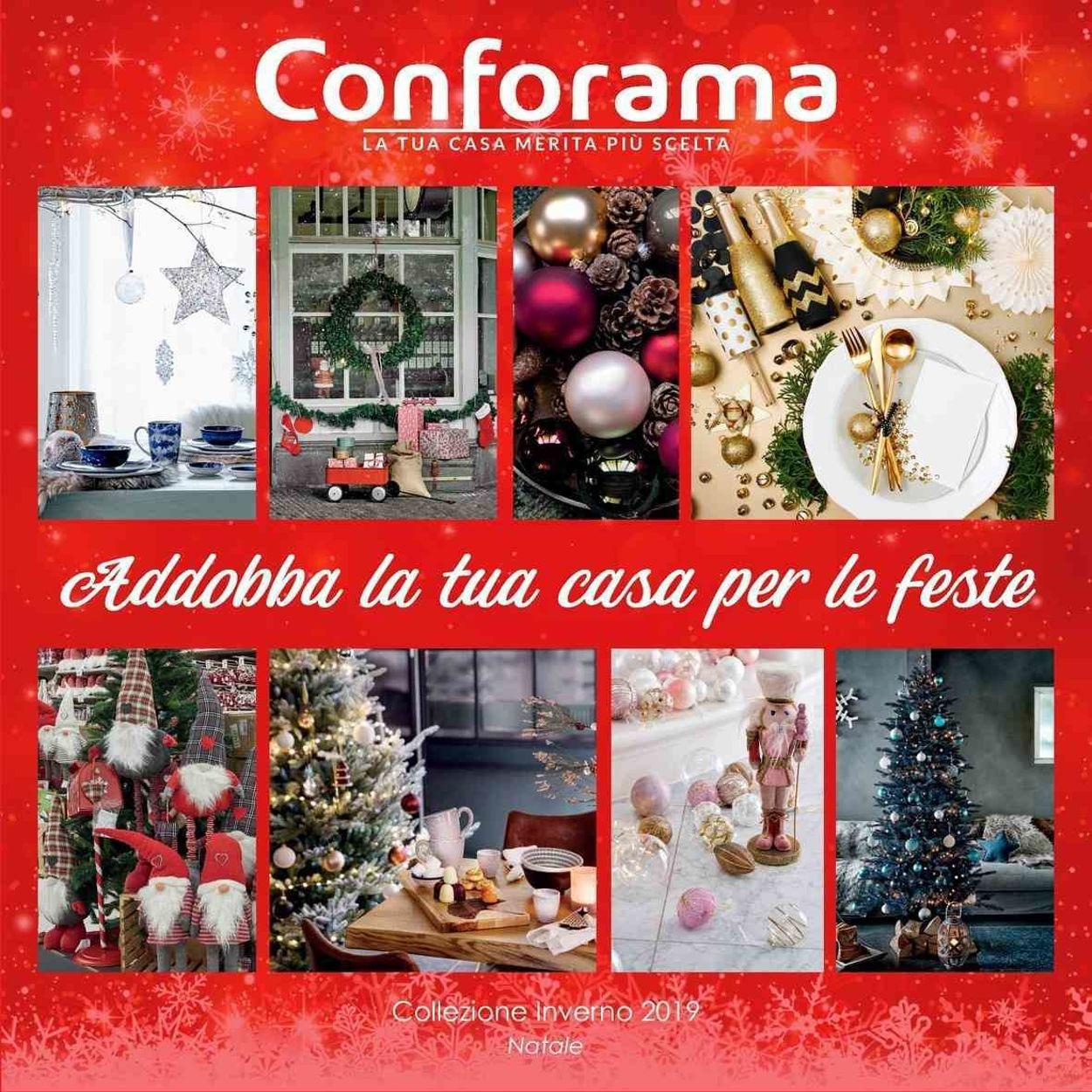 Volantino Il volantino natalizio di Conforama - Offerte 11/11-31/12/2019