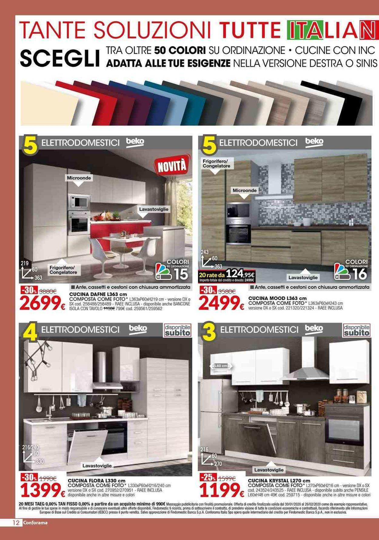 Volantino Conforama - Offerte 30/01-26/02/2020 (Pagina 12)