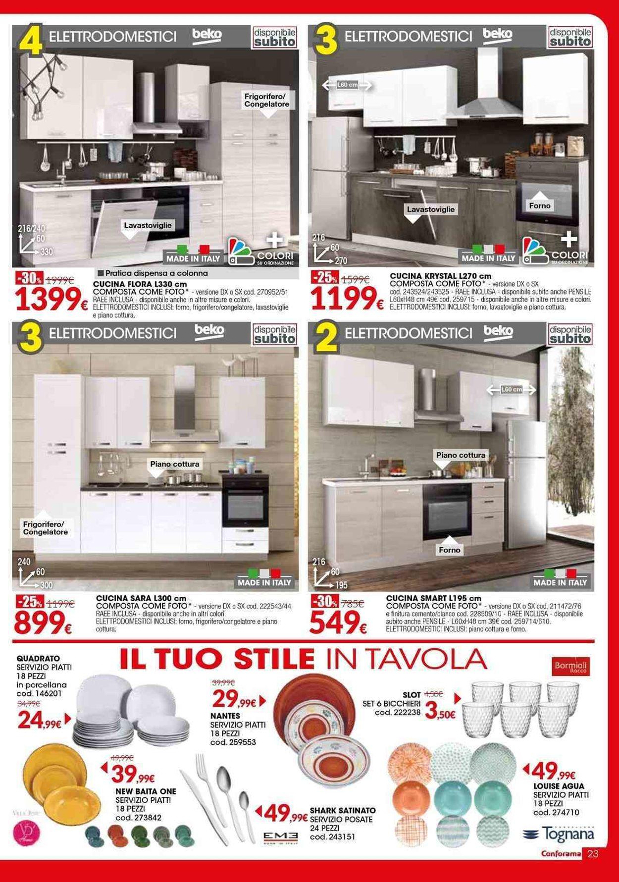 Volantino Conforama - Offerte 27/02-25/03/2020 (Pagina 23)