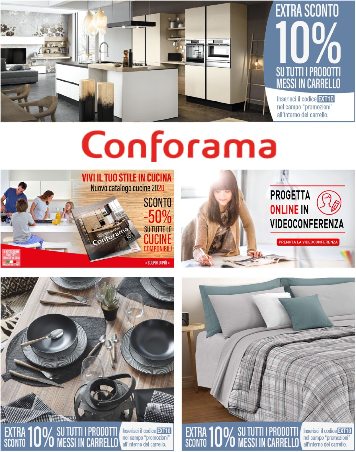Volantino Conforama - Offerte 14/10-20/10/2020
