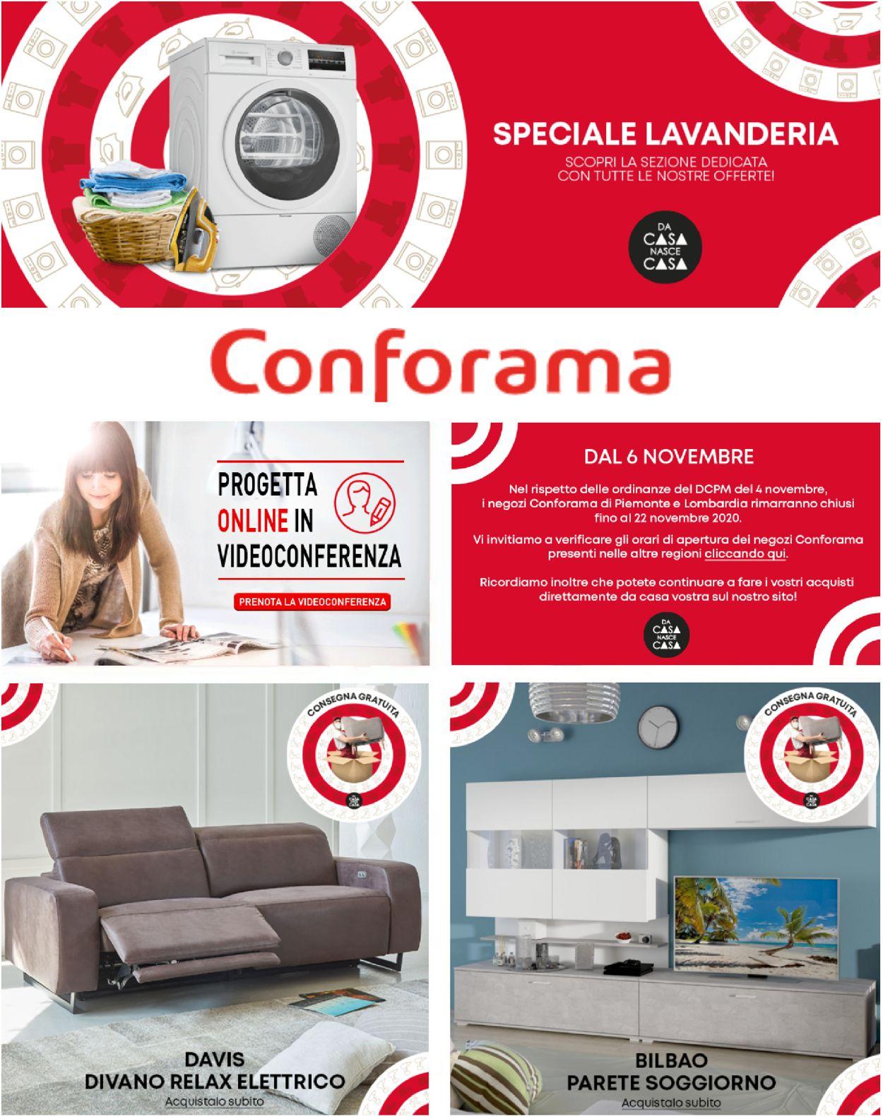 Volantino Conforama - Offerte 18/11-24/11/2020