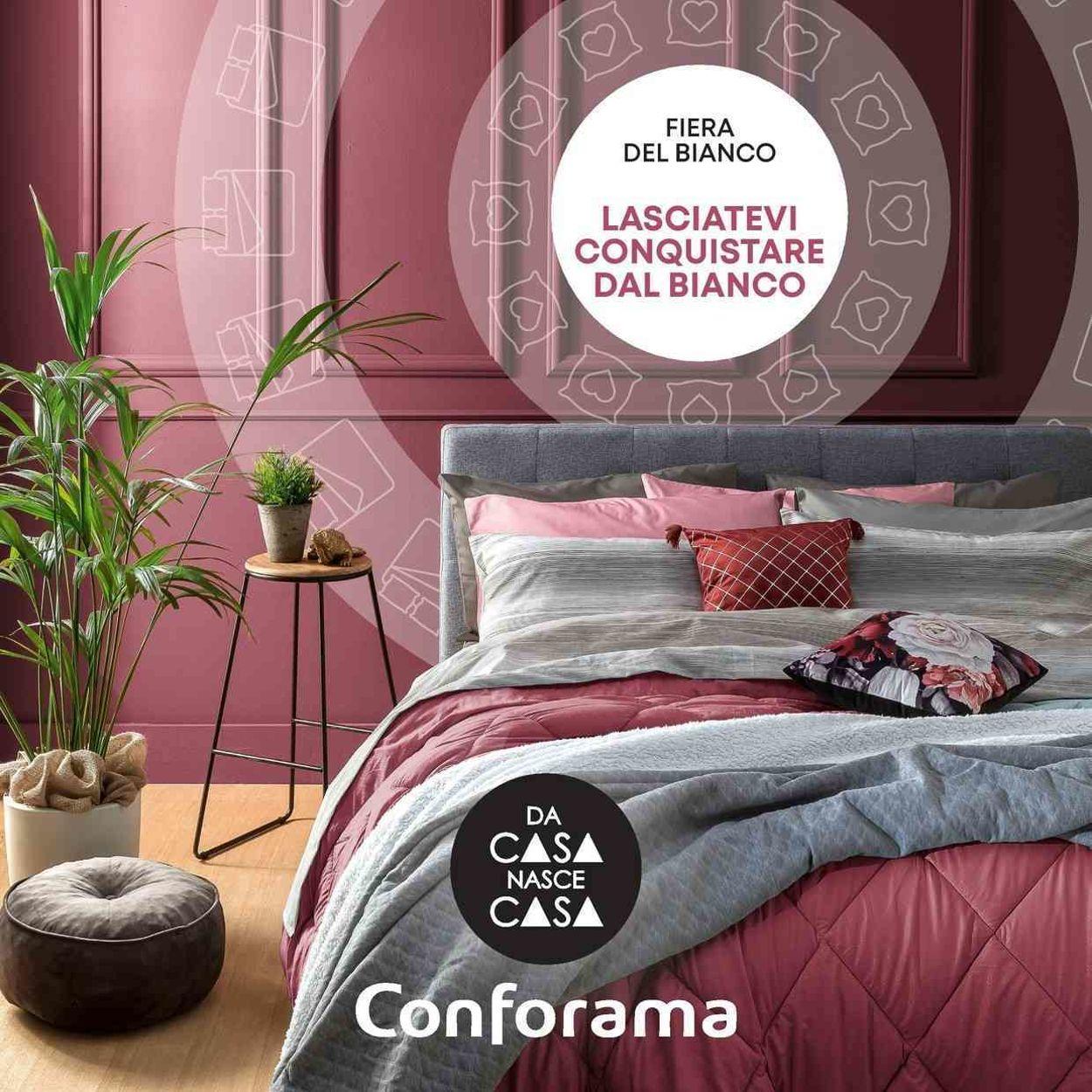 Volantino Conforama - Fiera Del Bianco 2021 - Offerte 02/01-31/01/2021