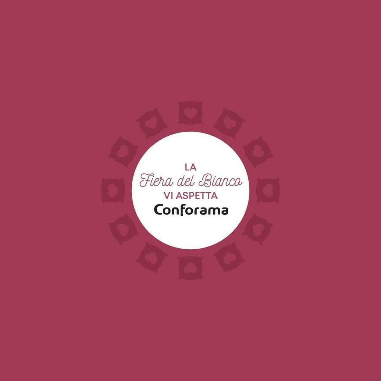 Volantino Conforama - Fiera Del Bianco 2021 - Offerte 02/01-31/01/2021 (Pagina 10)