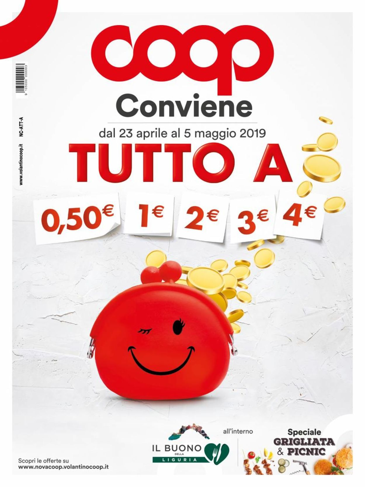 Volantino Coop - Offerte 23/04-05/05/2019