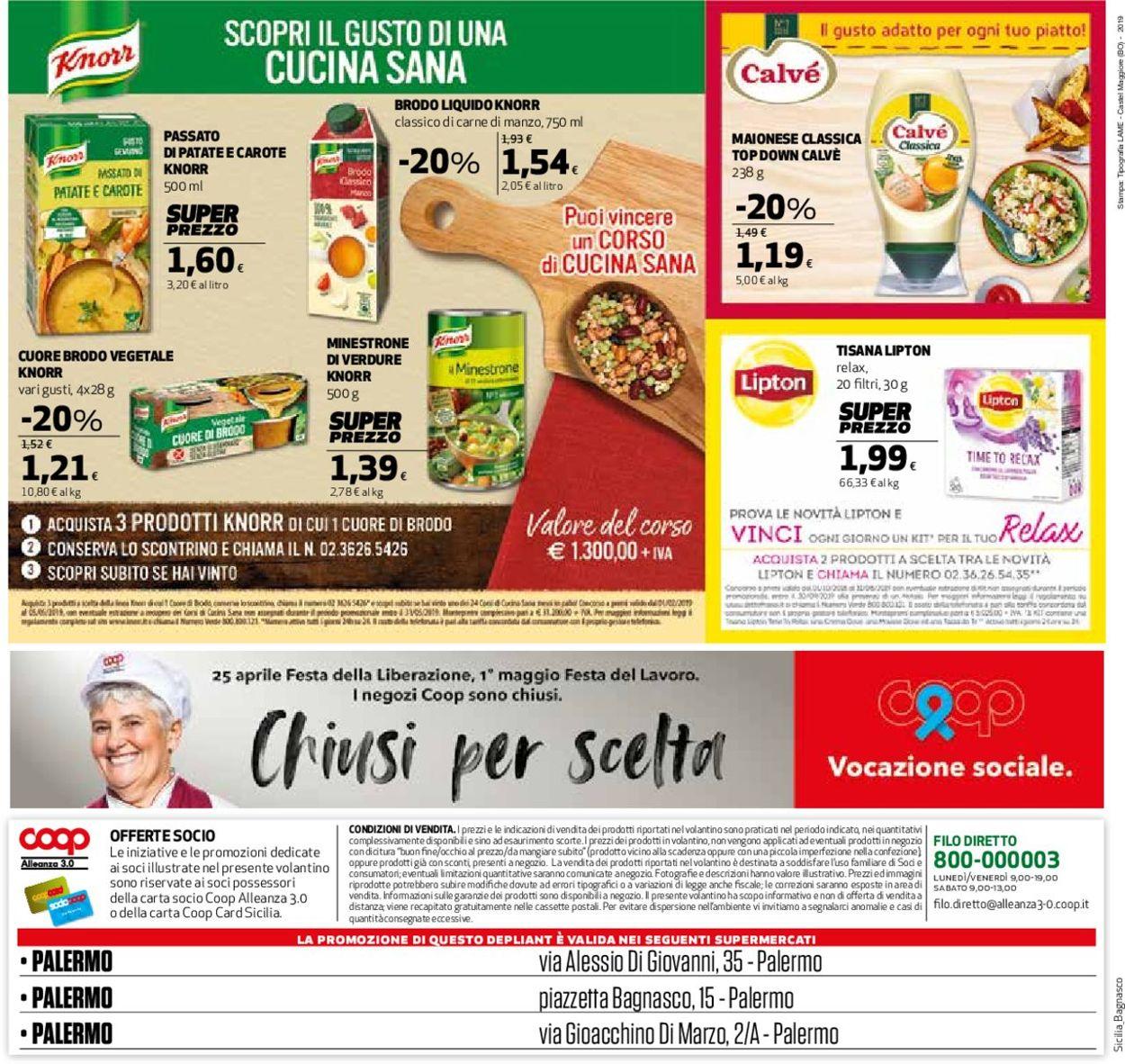 Volantino Coop - Offerte 23/04-05/05/2019 (Pagina 24)