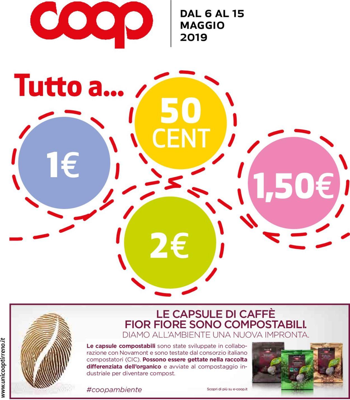 Volantino Coop - Offerte 06/05-15/05/2019