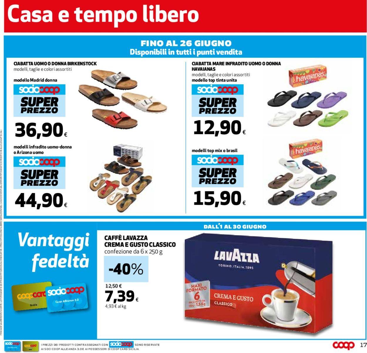 Volantino Coop - Offerte 30/05-12/06/2019 (Pagina 17)