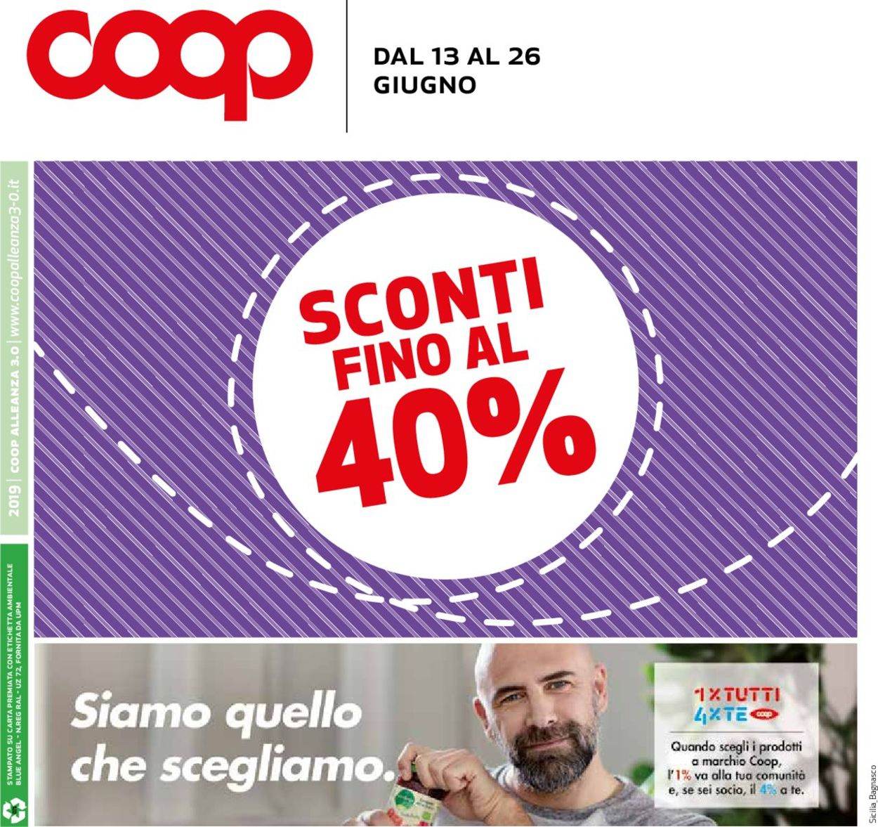 Volantino Coop - Offerte 13/06-26/06/2019